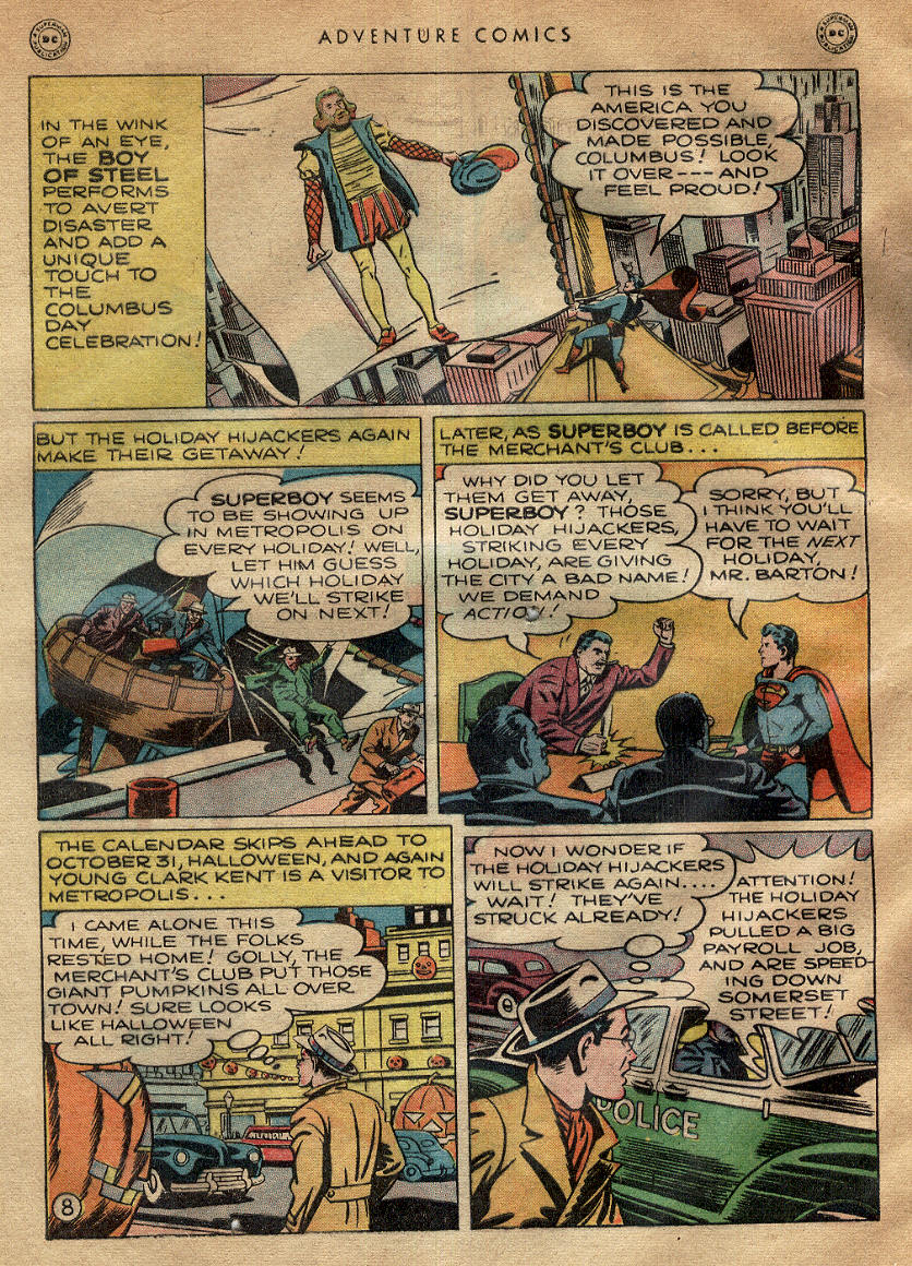 Read online Adventure Comics (1938) comic -  Issue #145 - 10
