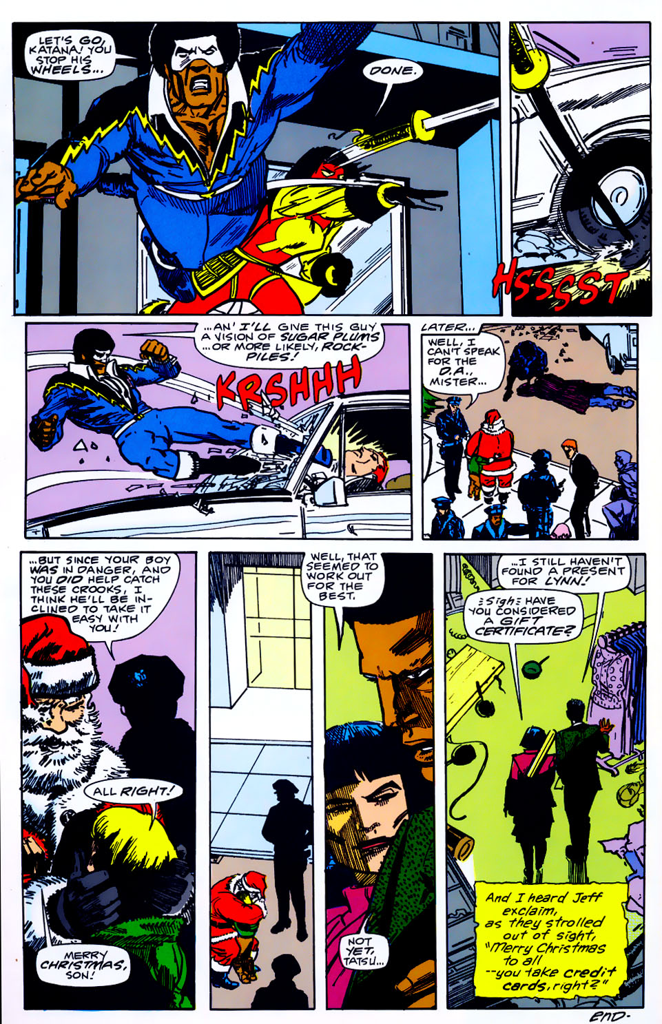 Read online Adventures of the Outsiders comic -  Issue #43 - 29