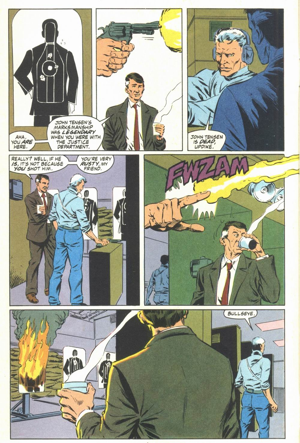 Read online Justice (1986) comic -  Issue #23 - 6