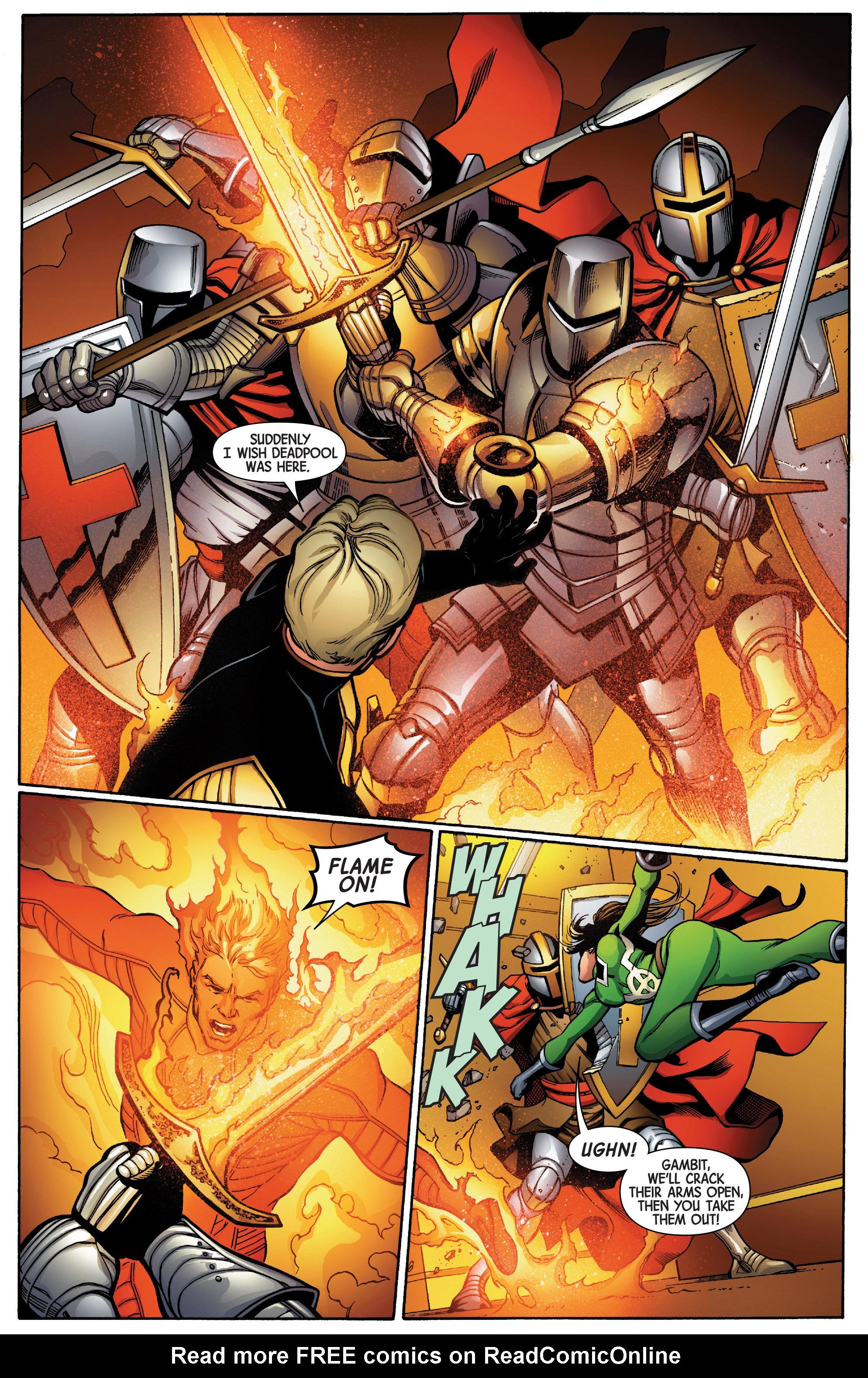 Read online Uncanny Avengers [II] comic -  Issue #5 - 14