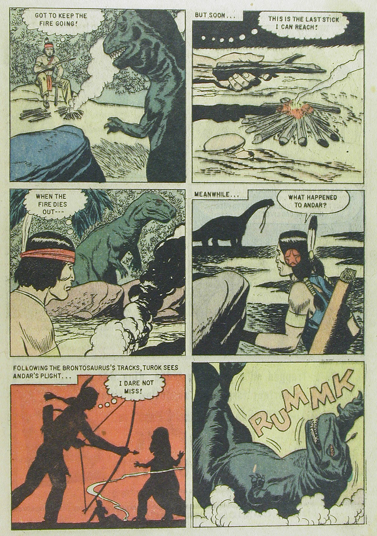 Read online Turok, Son of Stone comic -  Issue #13 - 33