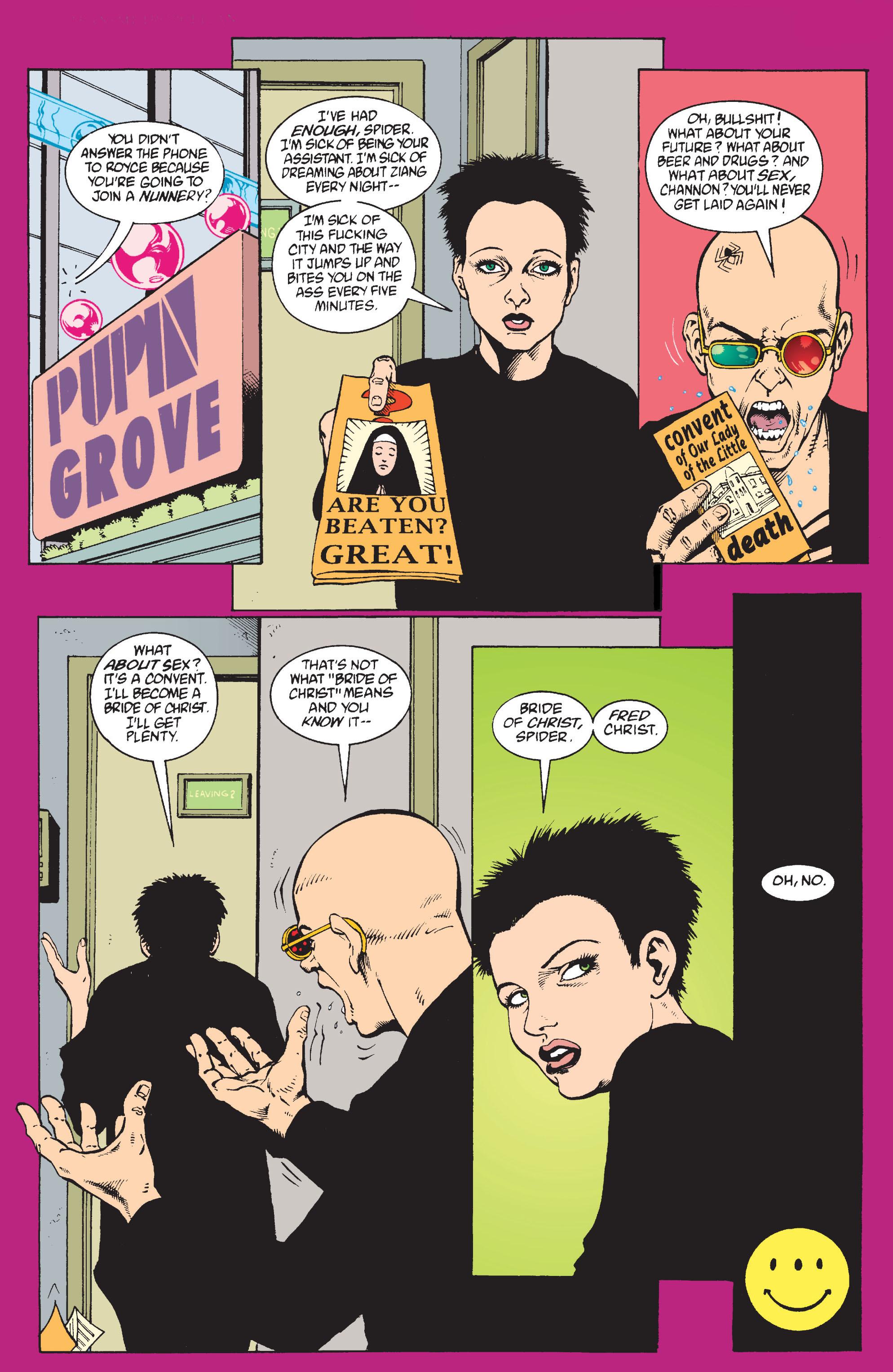 Read online Transmetropolitan comic -  Issue #9 - 23