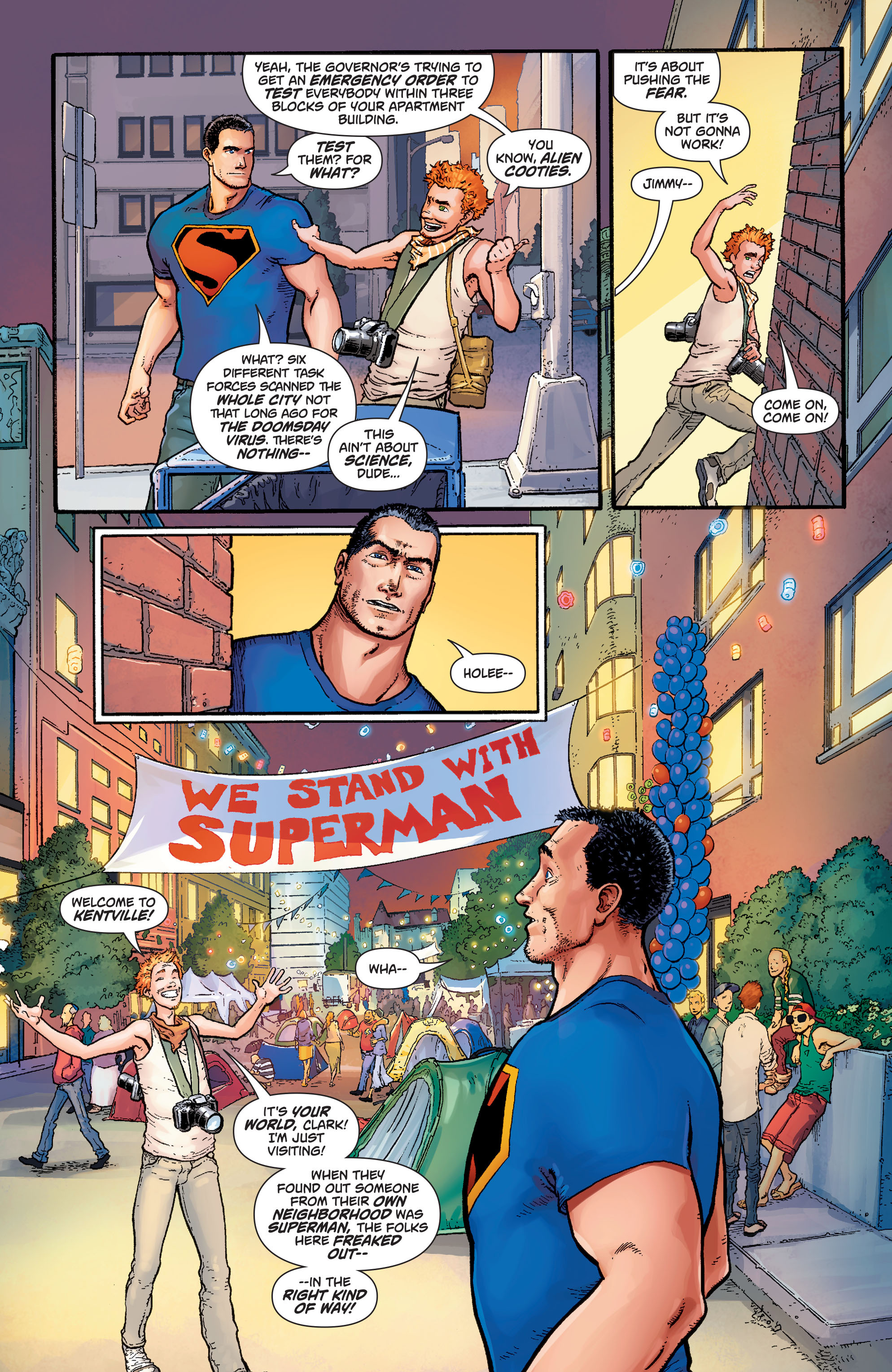 Read online Action Comics (2011) comic -  Issue #41 - 15