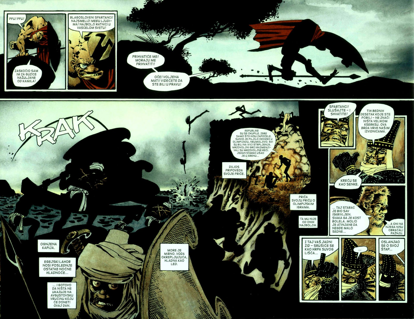Read online 300 (2007) comic -  Issue # TPB - 39