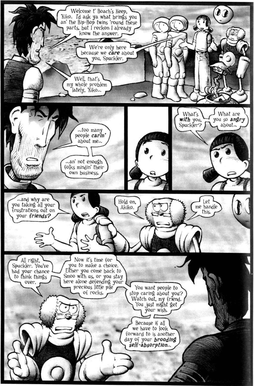 Read online Akiko comic -  Issue #Akiko _TPB 7 - 112