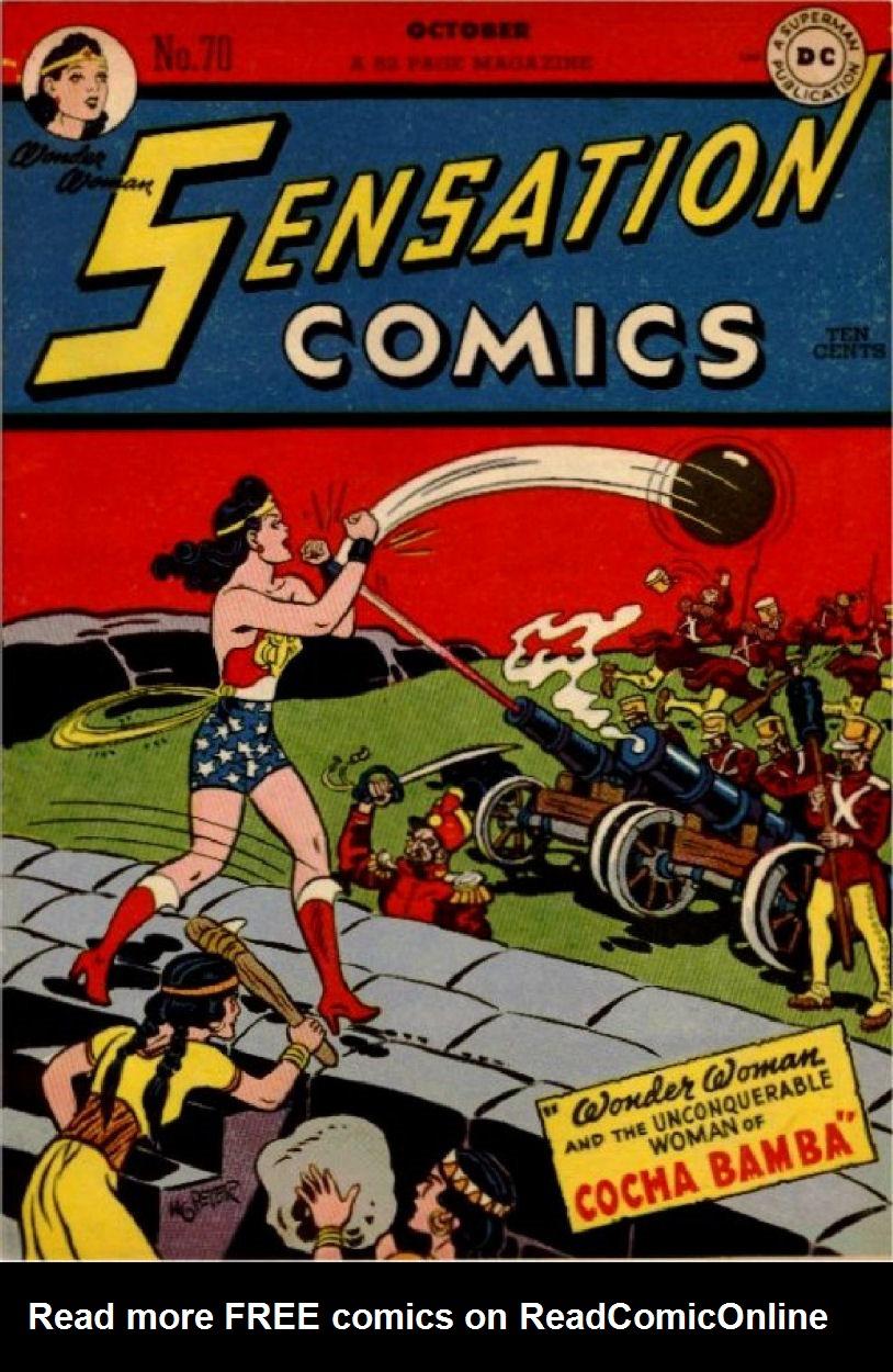 Read online Sensation (Mystery) Comics comic -  Issue #70 - 1