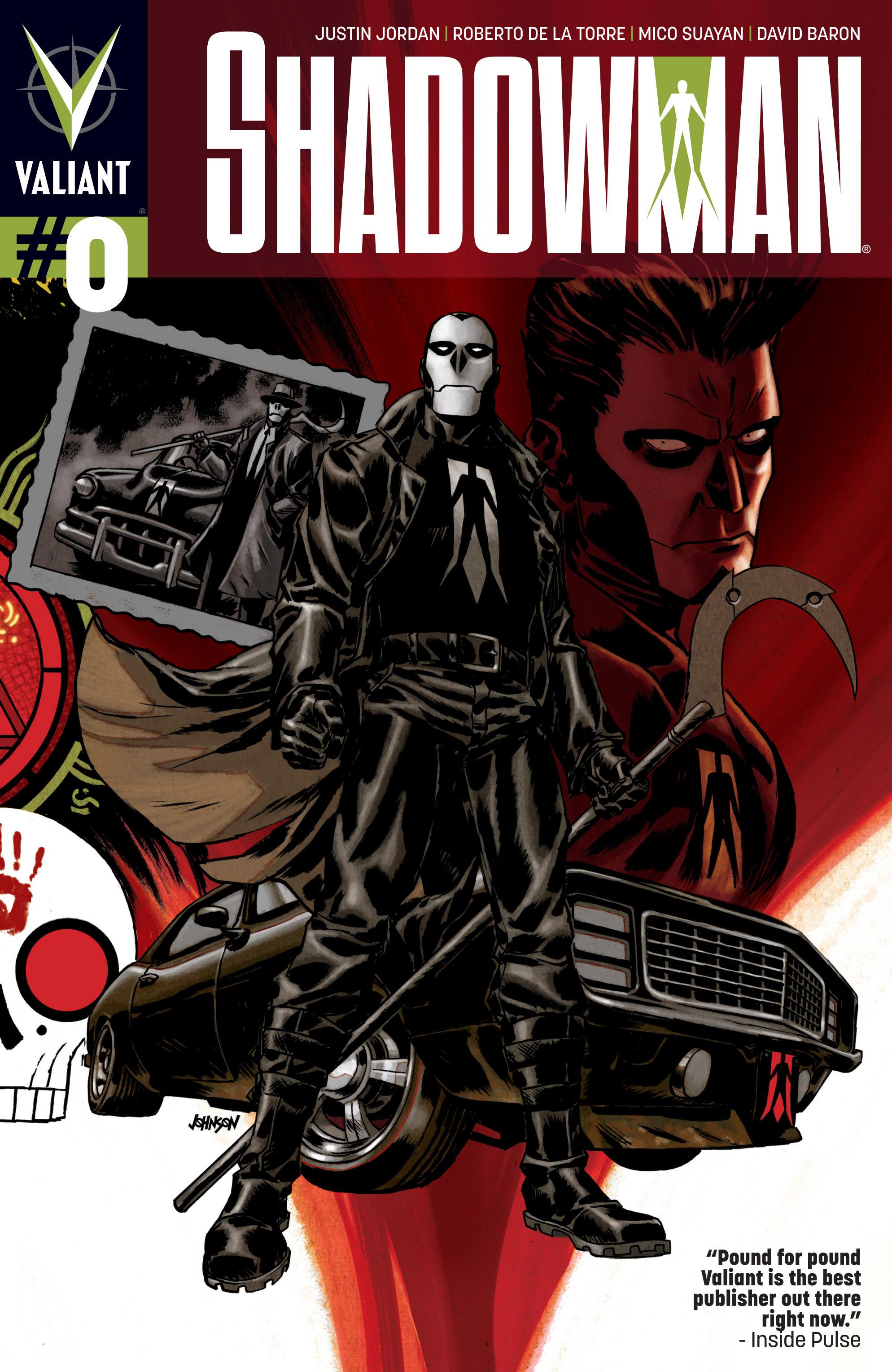 Read online Shadowman (2012) comic -  Issue #0 - 1