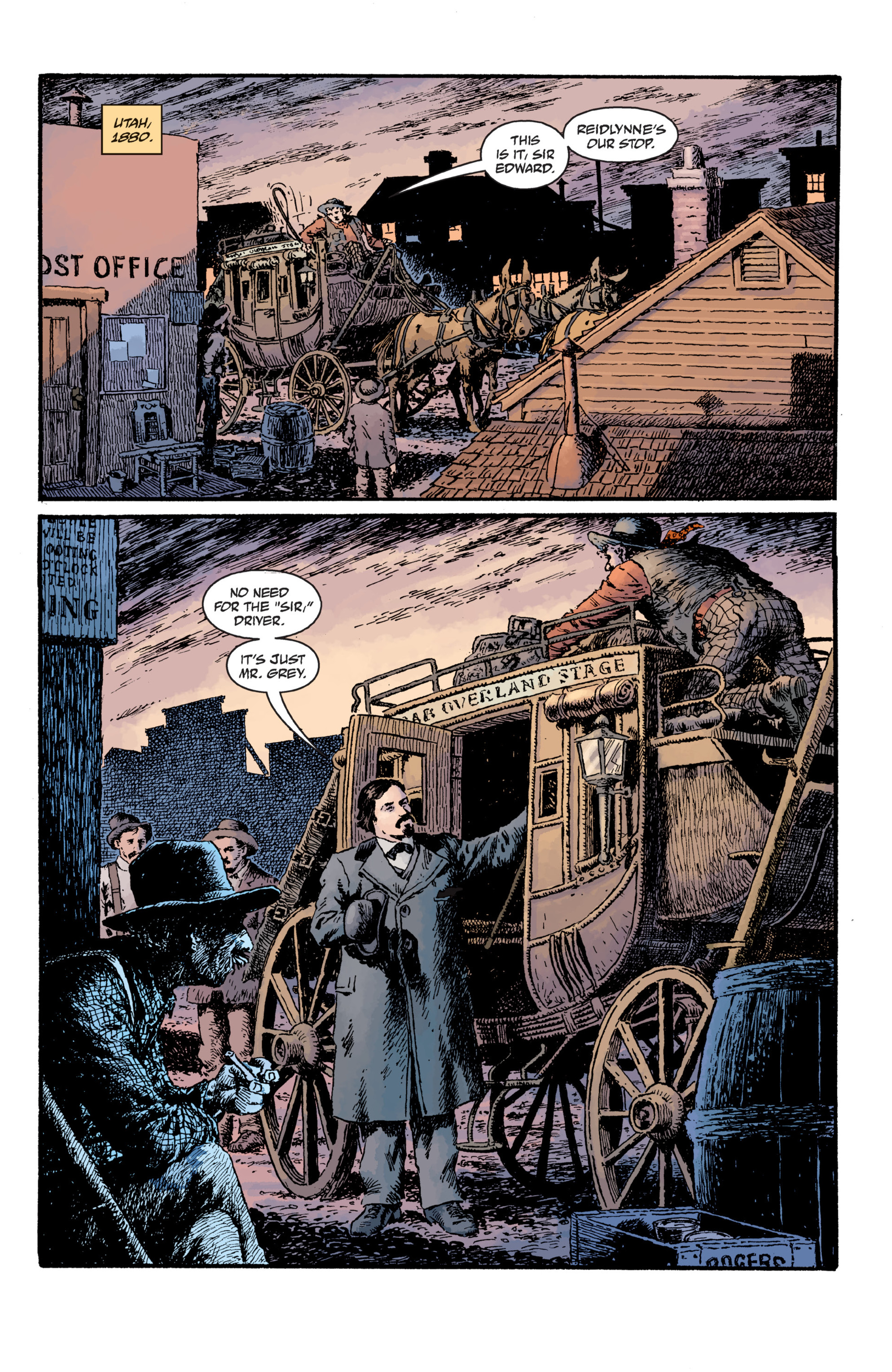 Read online Sir Edward Grey, Witchfinder: Lost and Gone Forever comic -  Issue # TPB - 10