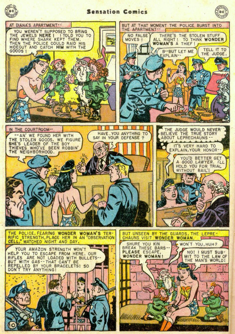 Read online Sensation (Mystery) Comics comic -  Issue #75 - 11