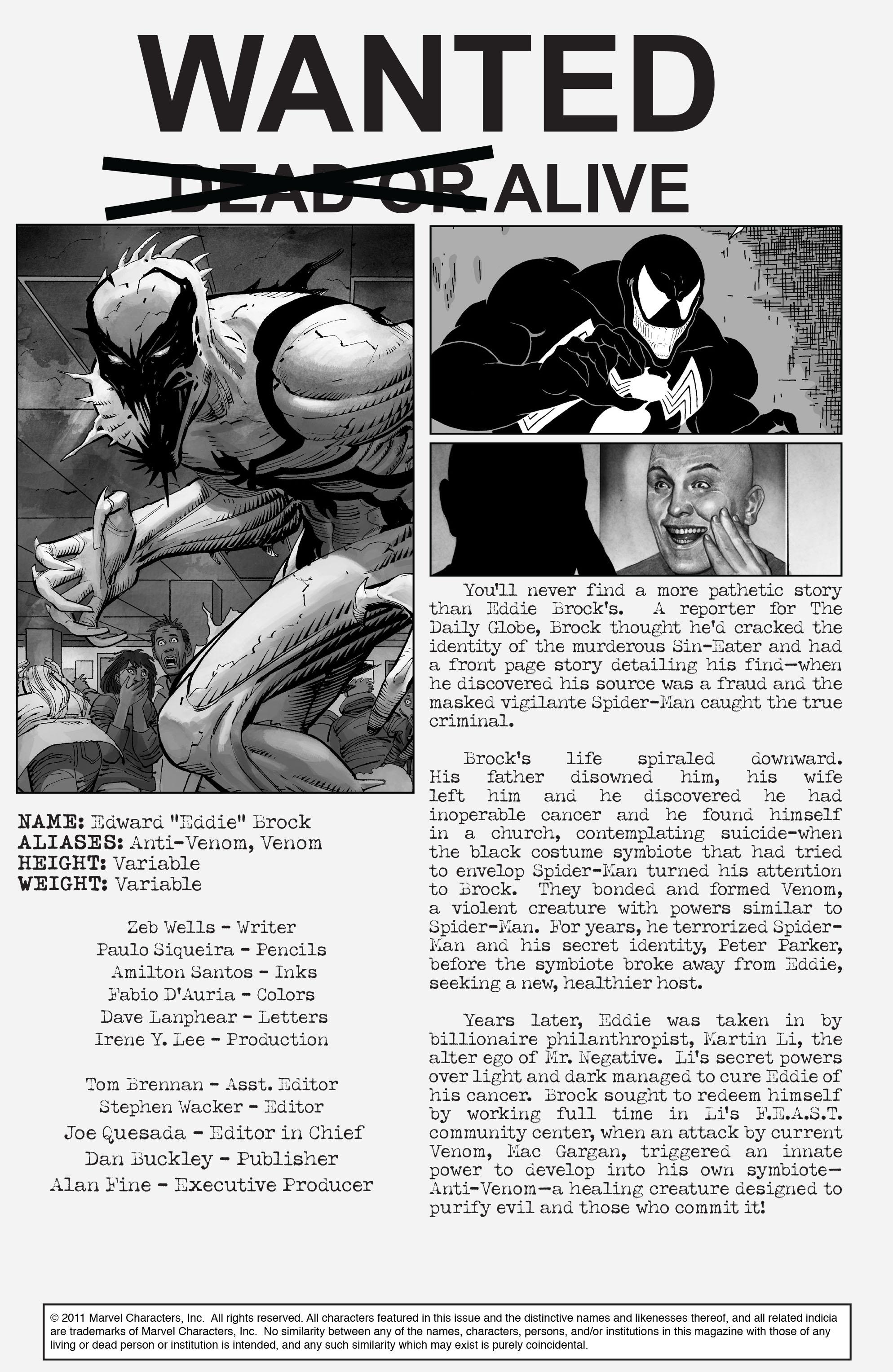 Read online Amazing Spider-Man Presents: Anti-Venom - New Ways To Live comic -  Issue #1 - 2
