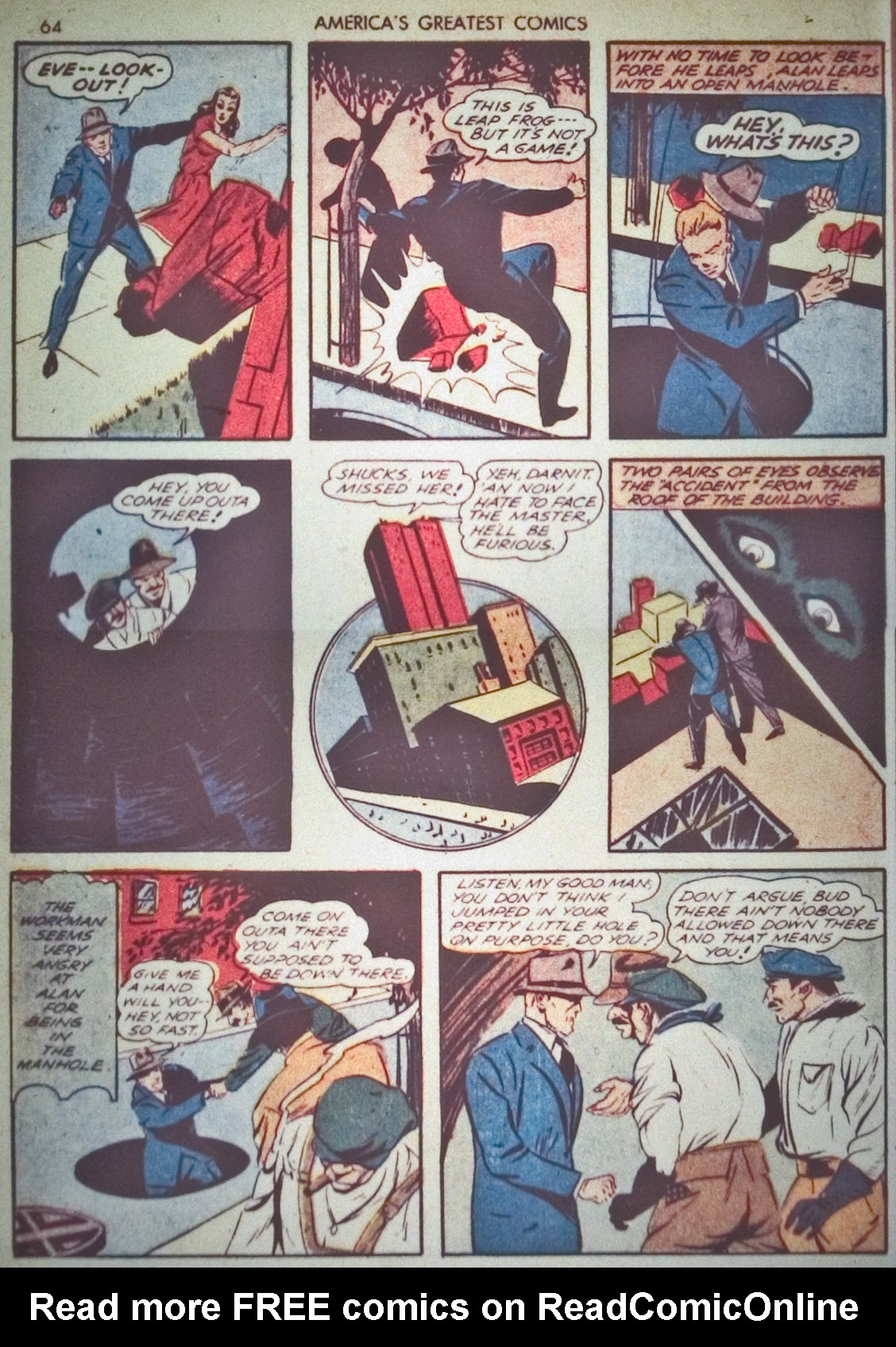 Read online America's Greatest Comics comic -  Issue #1 - 67