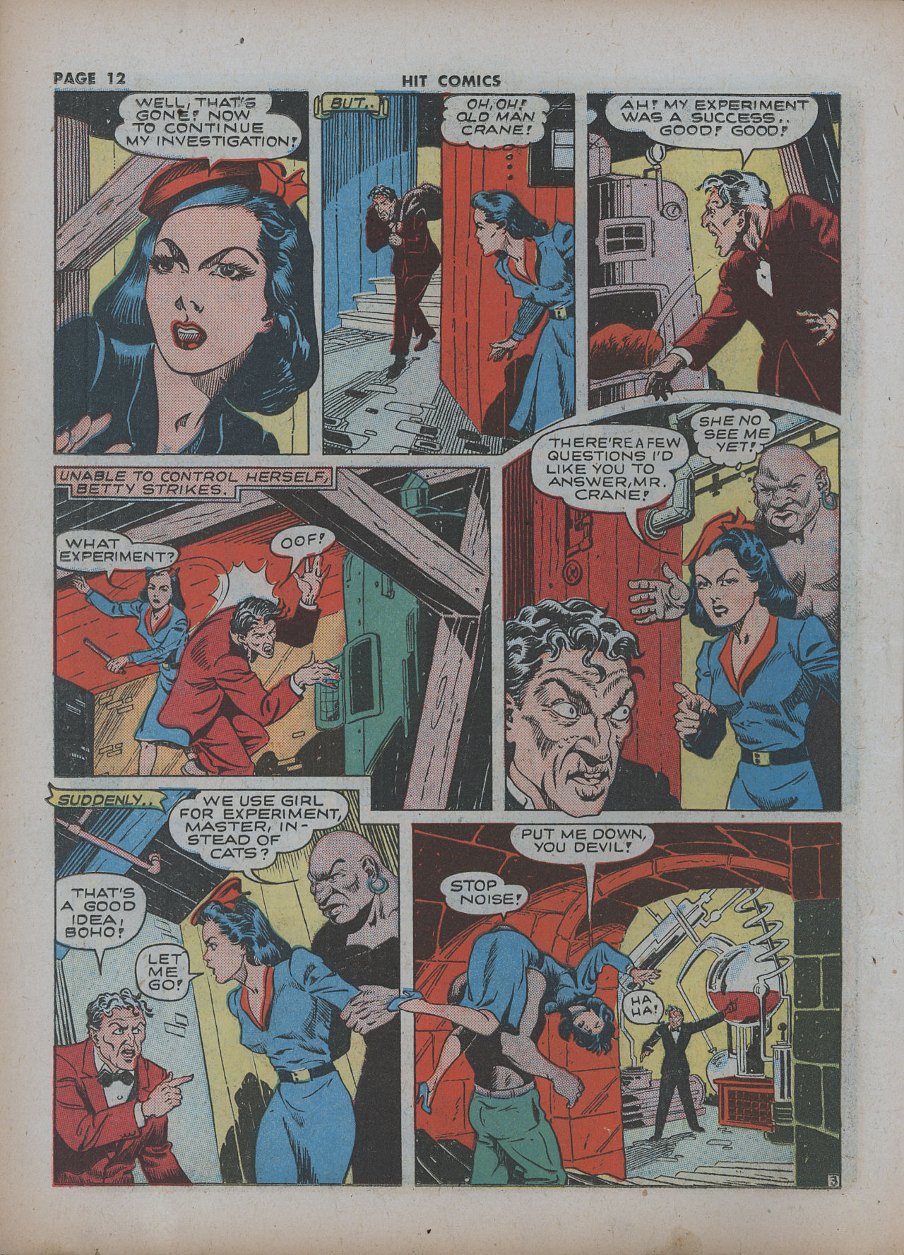 Read online Hit Comics comic -  Issue #22 - 14