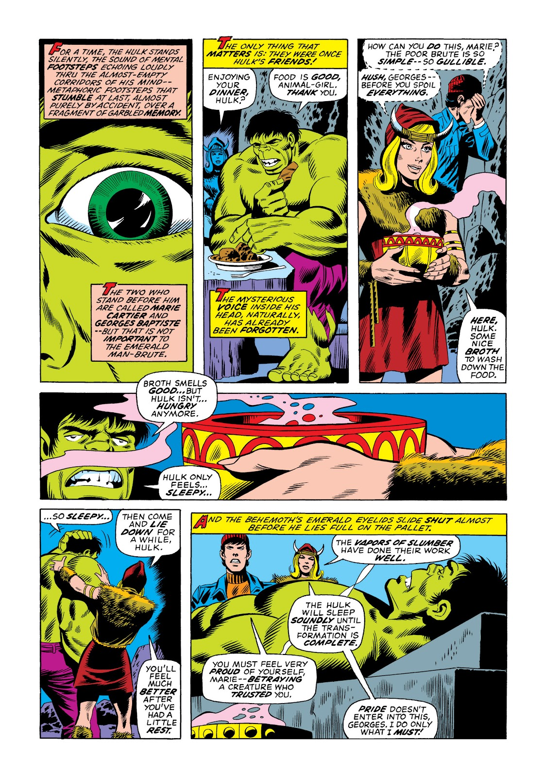 Read online Marvel Masterworks: The Incredible Hulk comic -  Issue # TPB 10 (Part 2) - 96