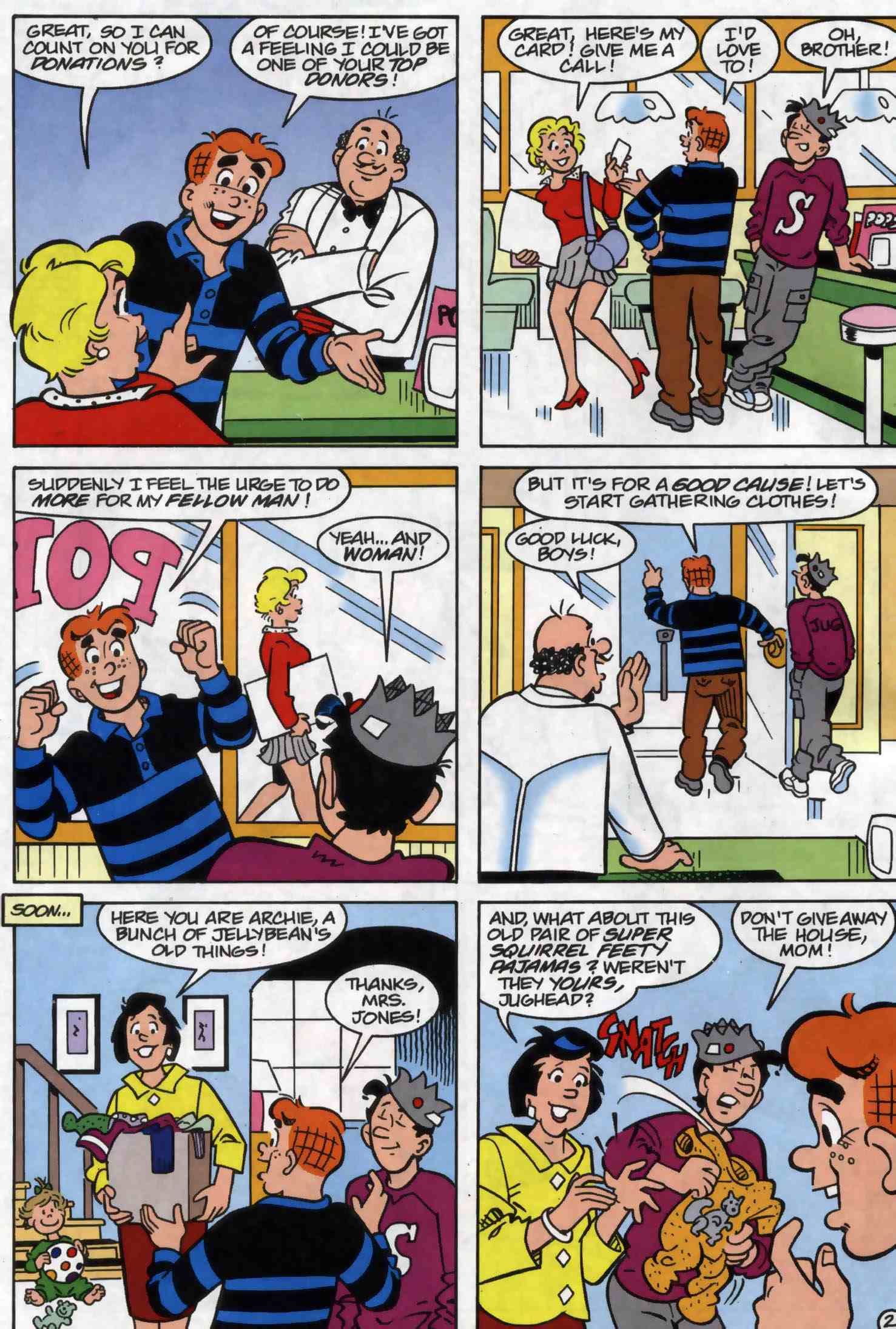 Read online Archie (1960) comic -  Issue #556 - 9