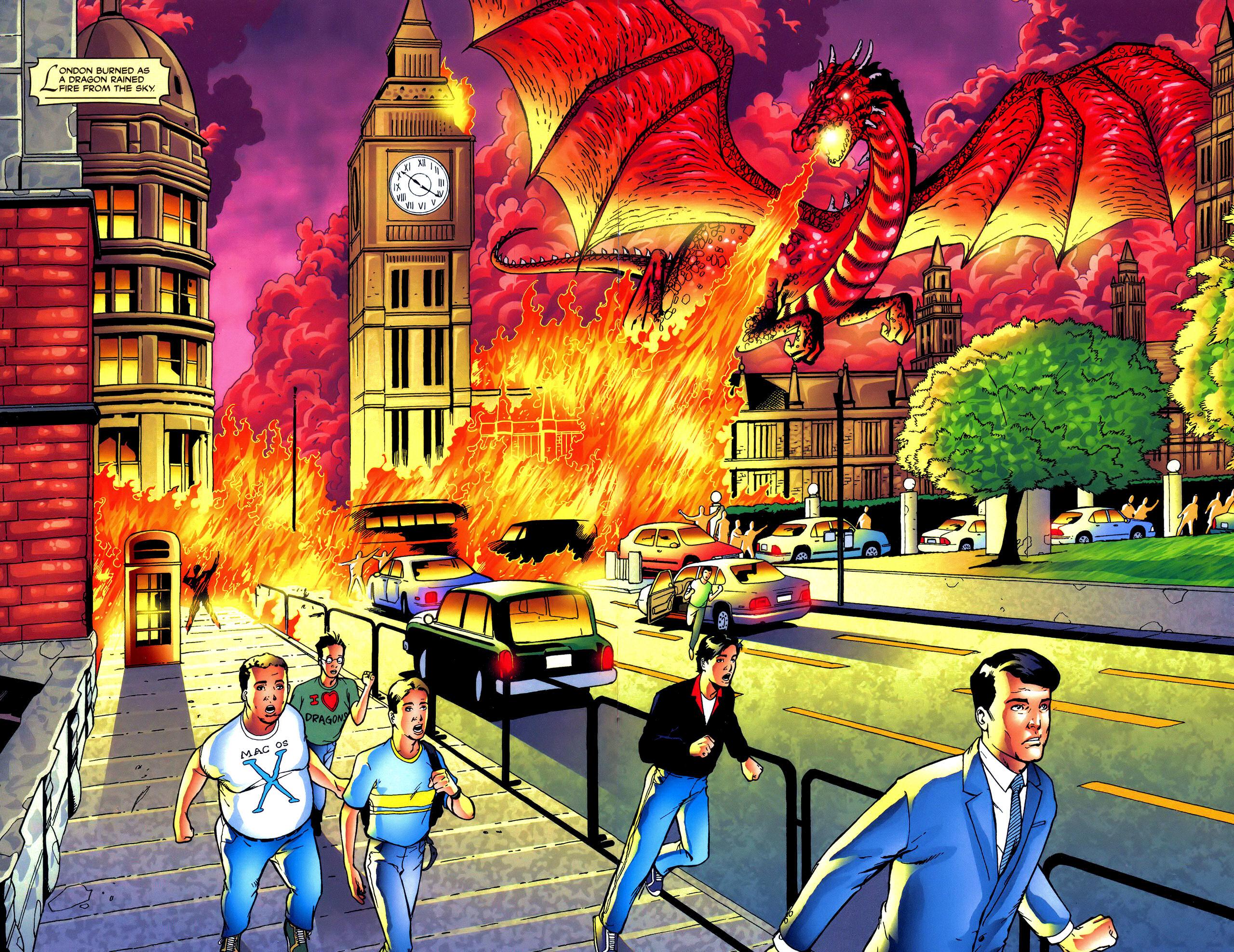 Read online Avengelyne: Dragon Realm comic -  Issue #0.5 - 9