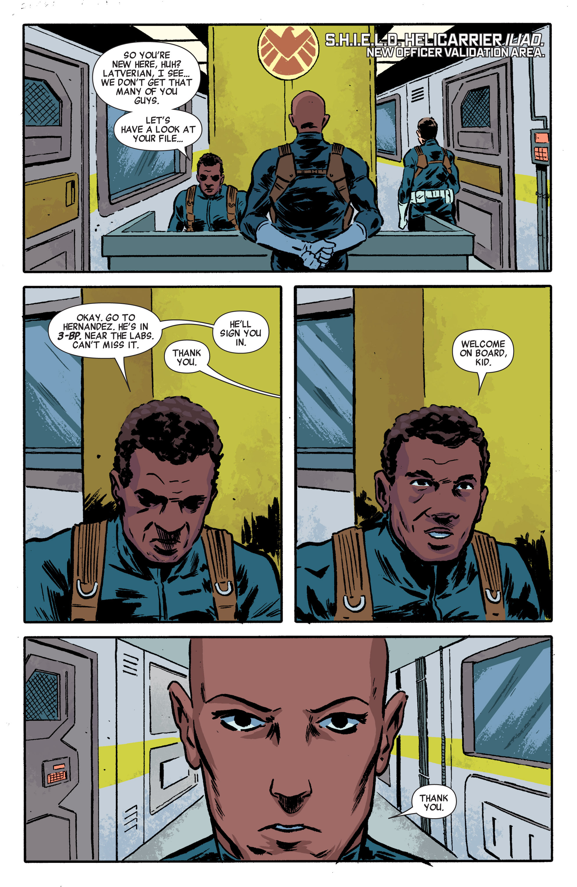 Read online Secret Avengers (2014) comic -  Issue #1 - 12