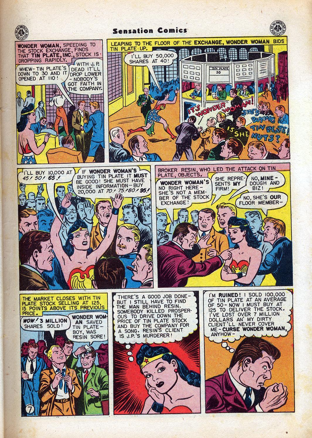 Read online Sensation (Mystery) Comics comic -  Issue #47 - 9