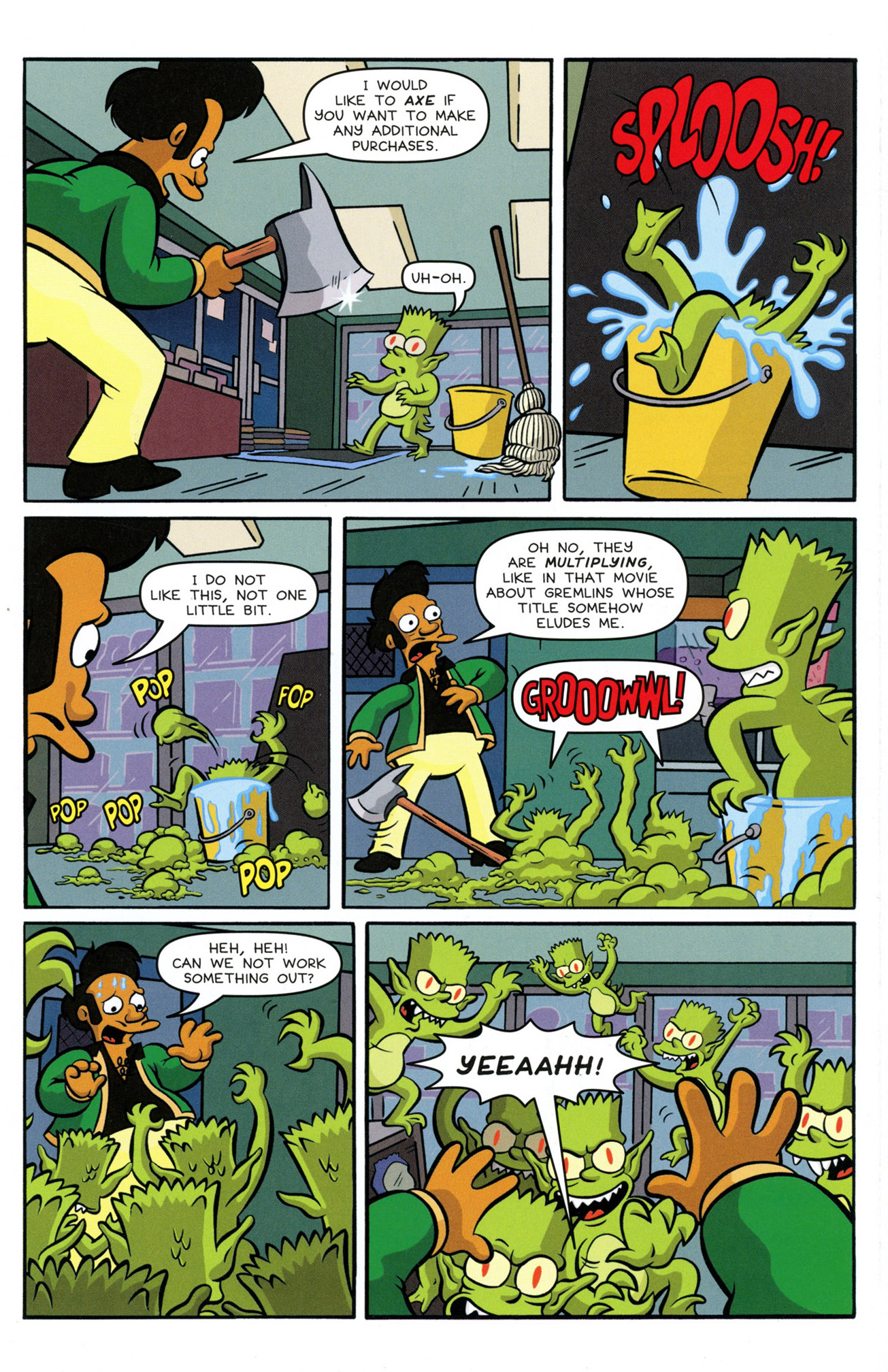 Read online Treehouse of Horror comic -  Issue #21 - 9