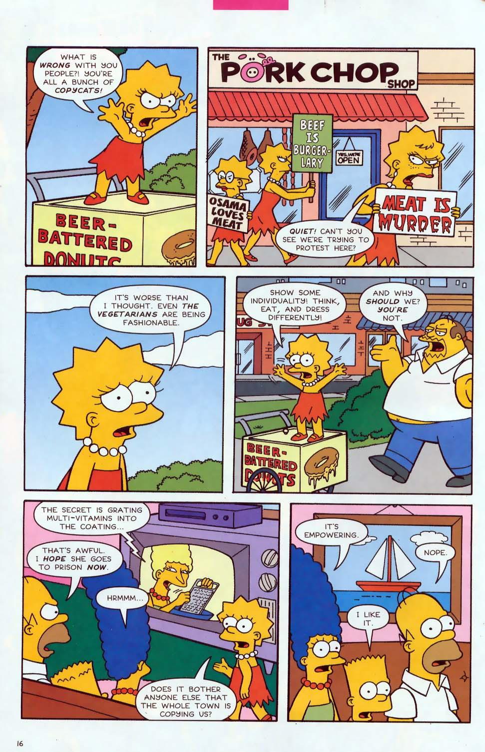 Read online Simpsons Comics comic -  Issue #85 - 17