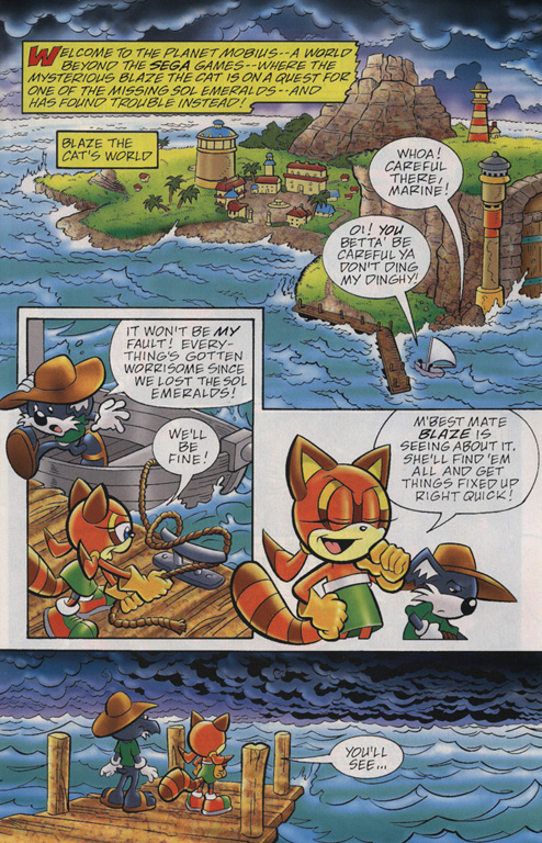 Read online Sonic Universe comic -  Issue #22 - 2