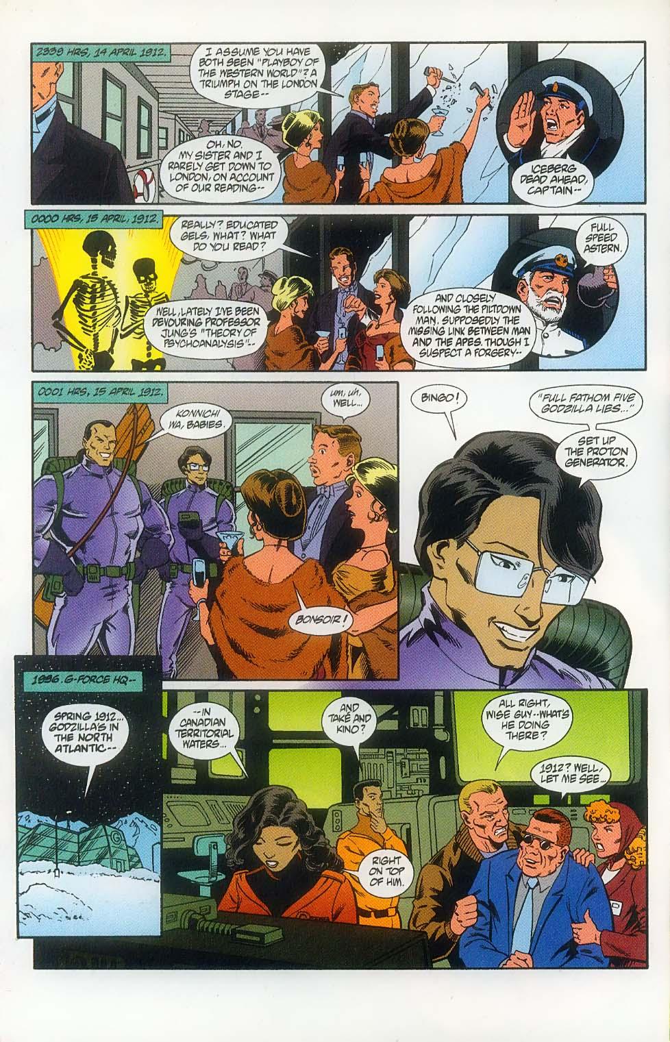 Godzilla (1995) Issue #11 #12 - English 7