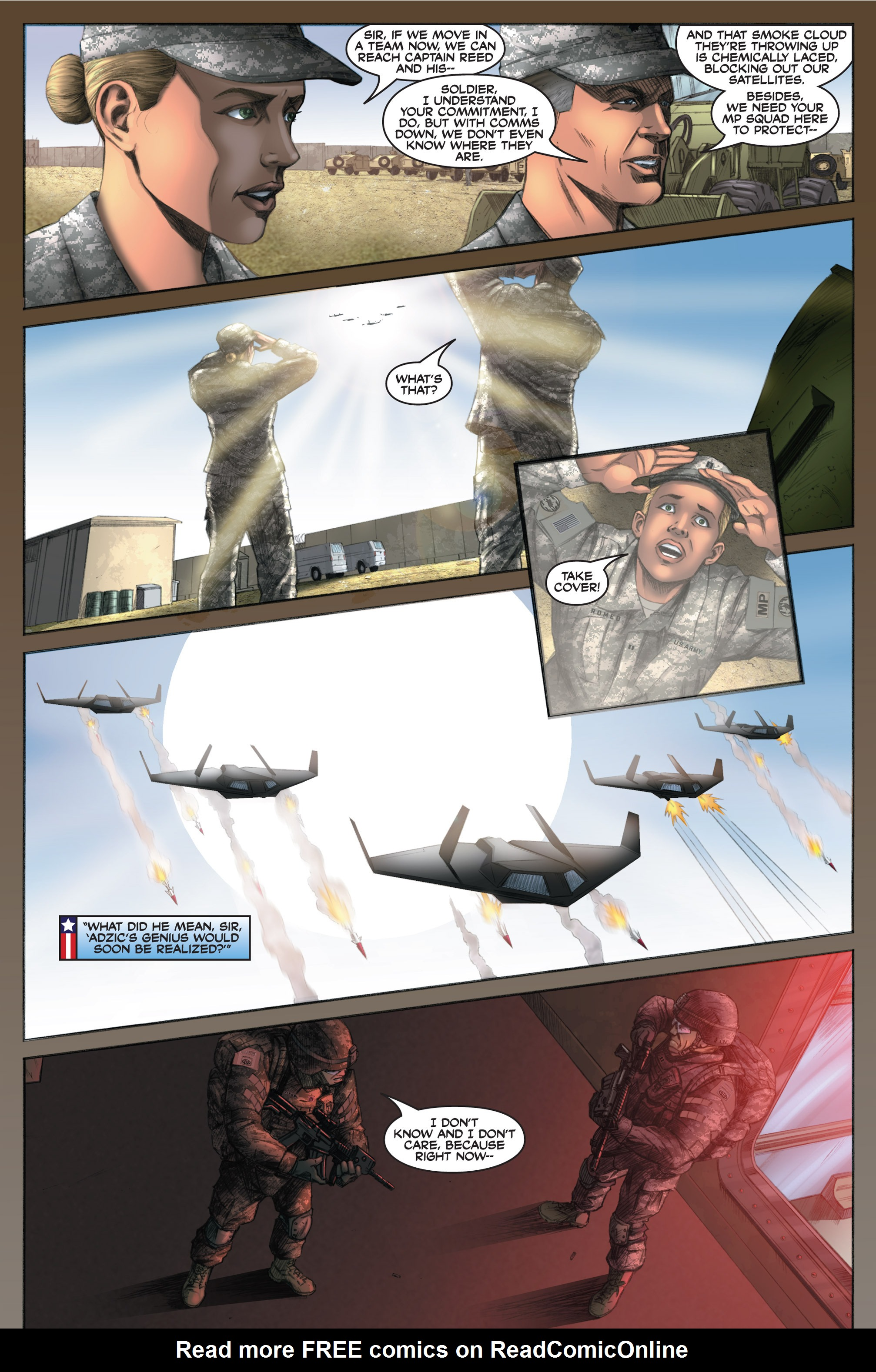 Read online America's Army comic -  Issue #6 - 26