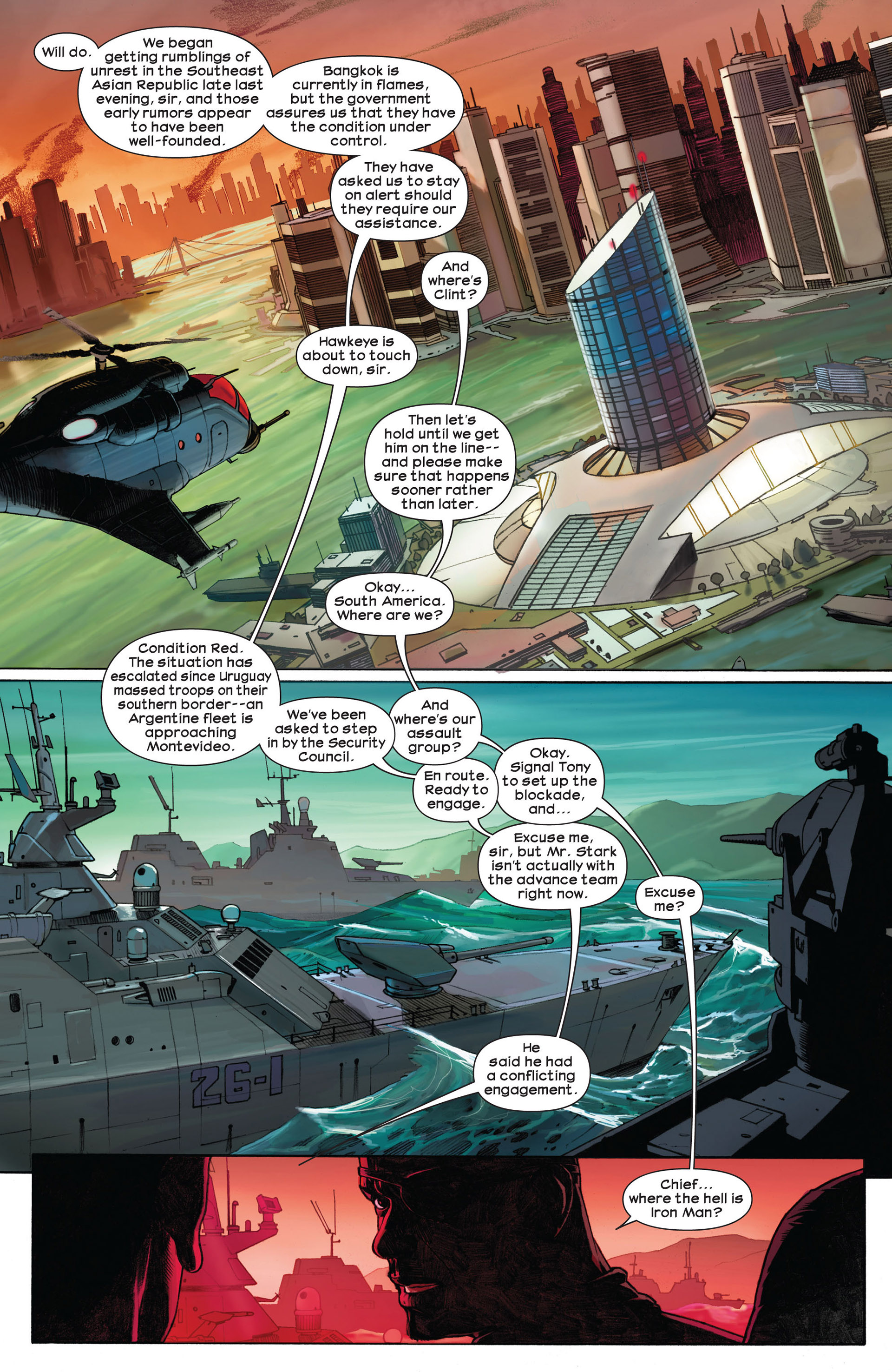 Read online Ultimate Comics Ultimates comic -  Issue #1 - 6
