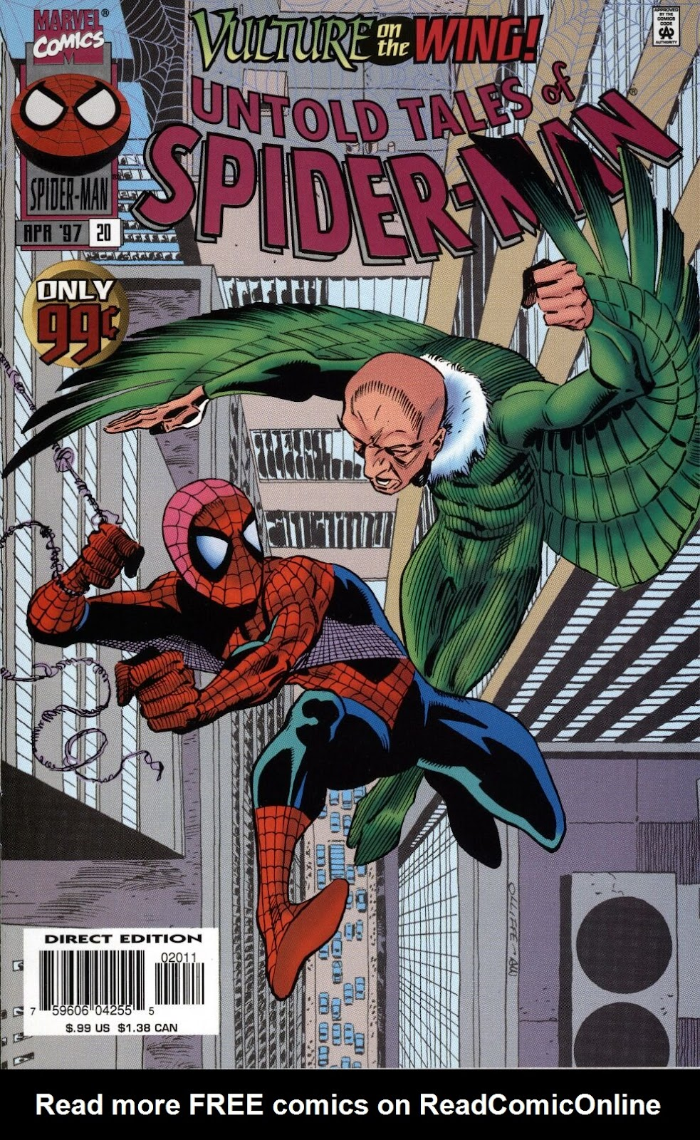 Untold Tales of Spider-Man issue 20 - Page 1