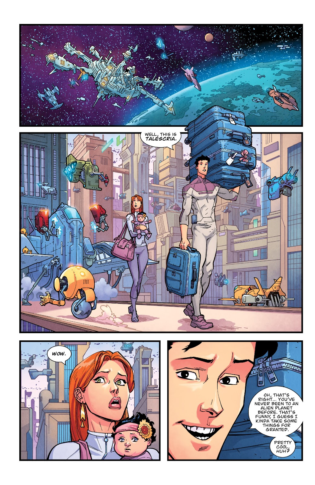 Invincible (2003) issue TPB 21 - Modern Family - Page 67