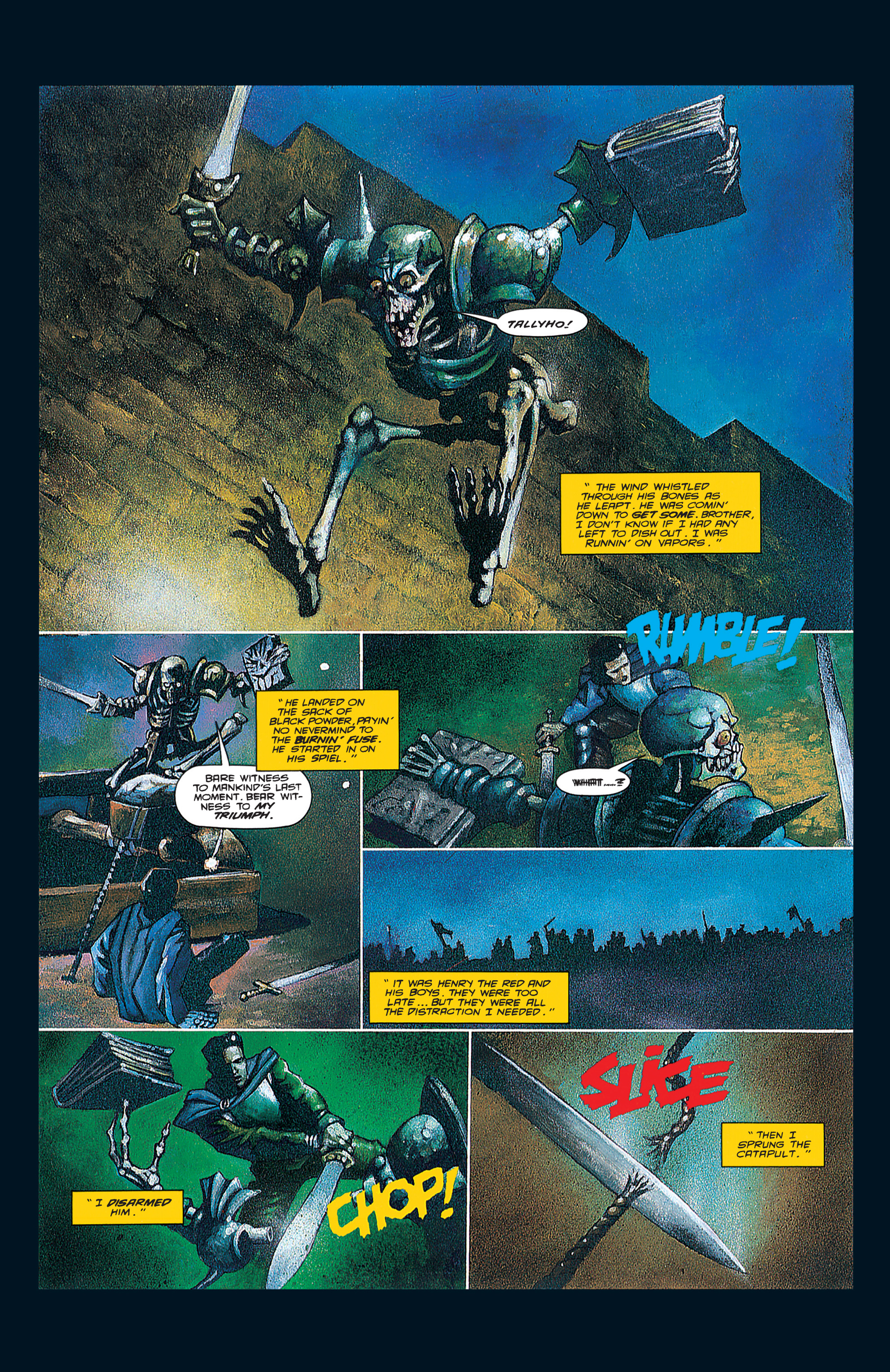 Read online Army of Darkness (1992) comic -  Issue #3 - 25
