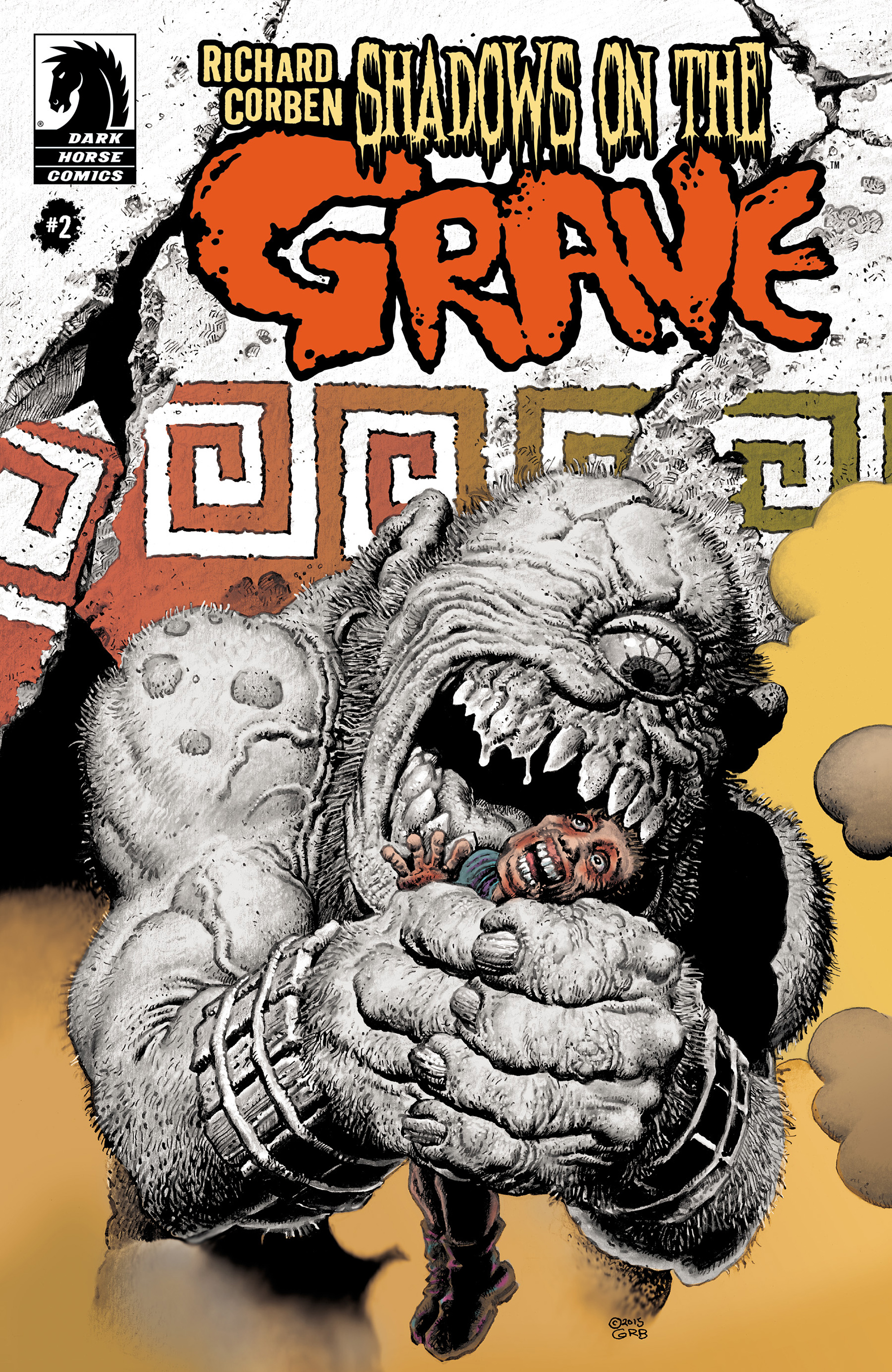 Read online Shadows on the Grave comic -  Issue #2 - 1