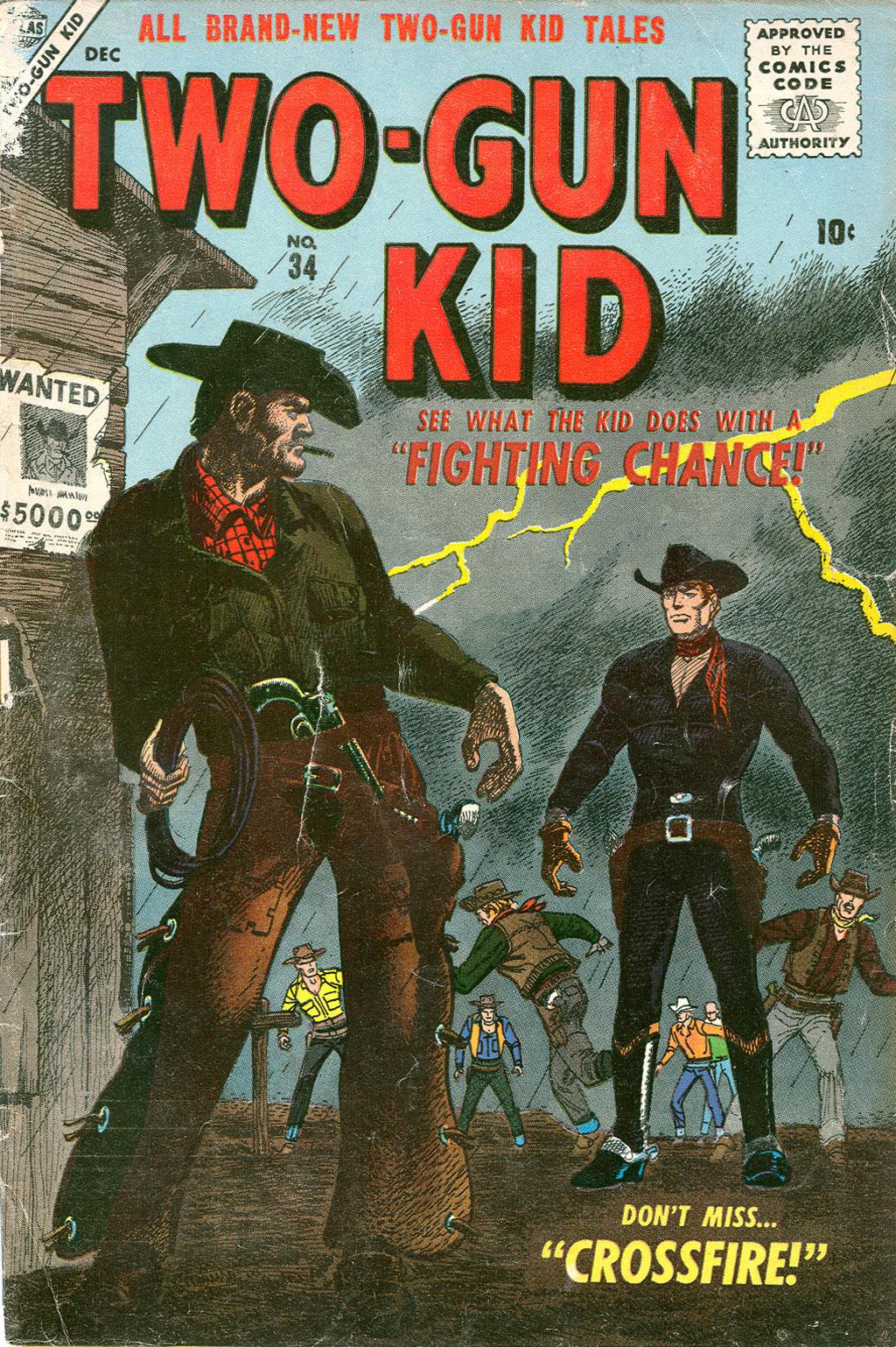 Read online Two-Gun Kid comic -  Issue #34 - 1