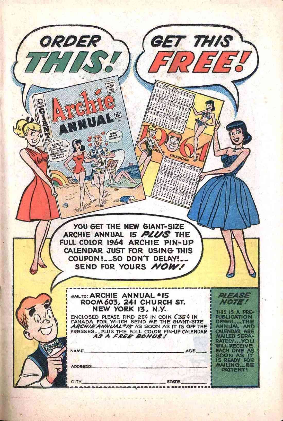 Read online Archie (1960) comic -  Issue #138 - 19
