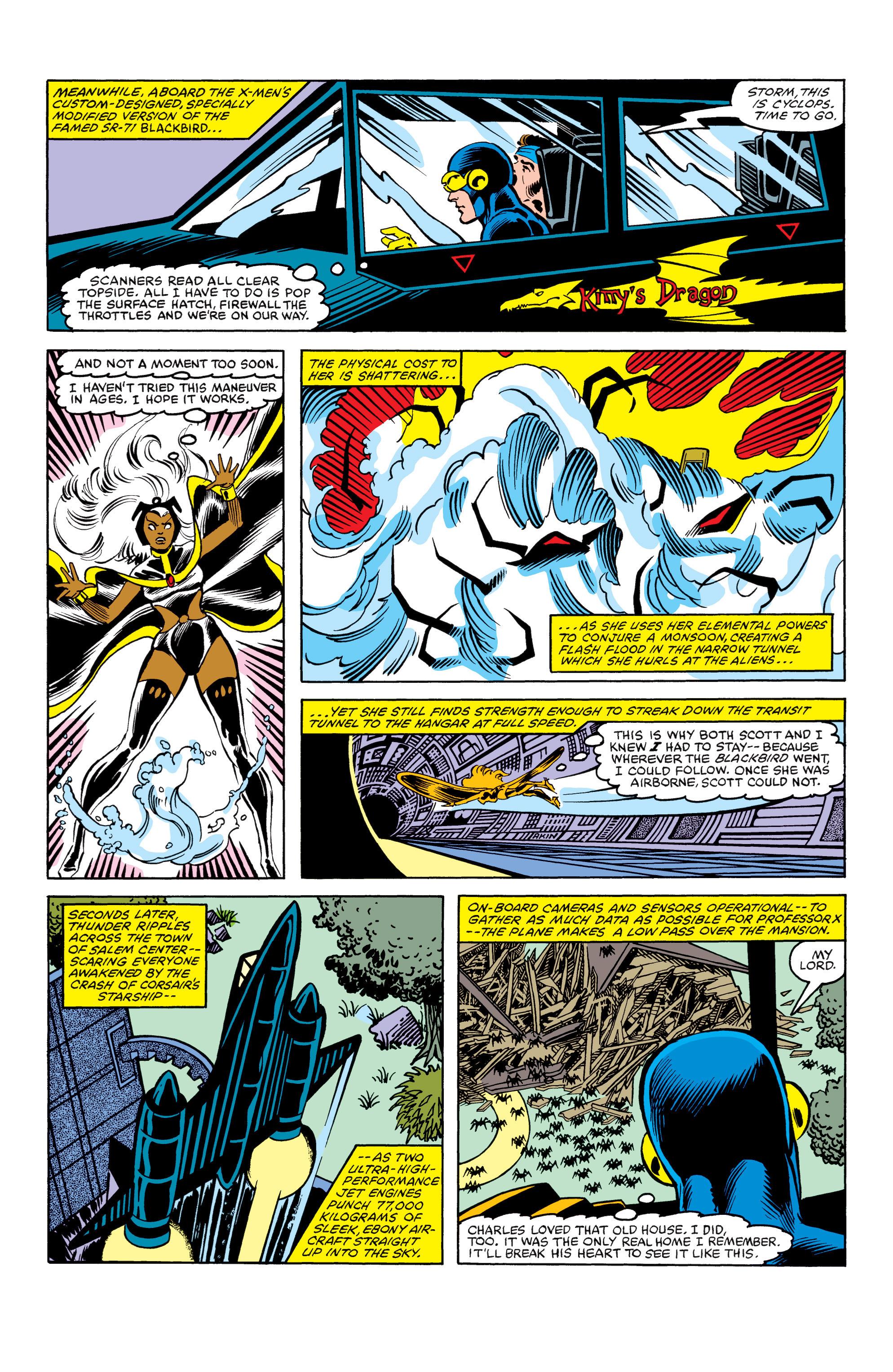 Read online Uncanny X-Men (1963) comic -  Issue #154 - 15