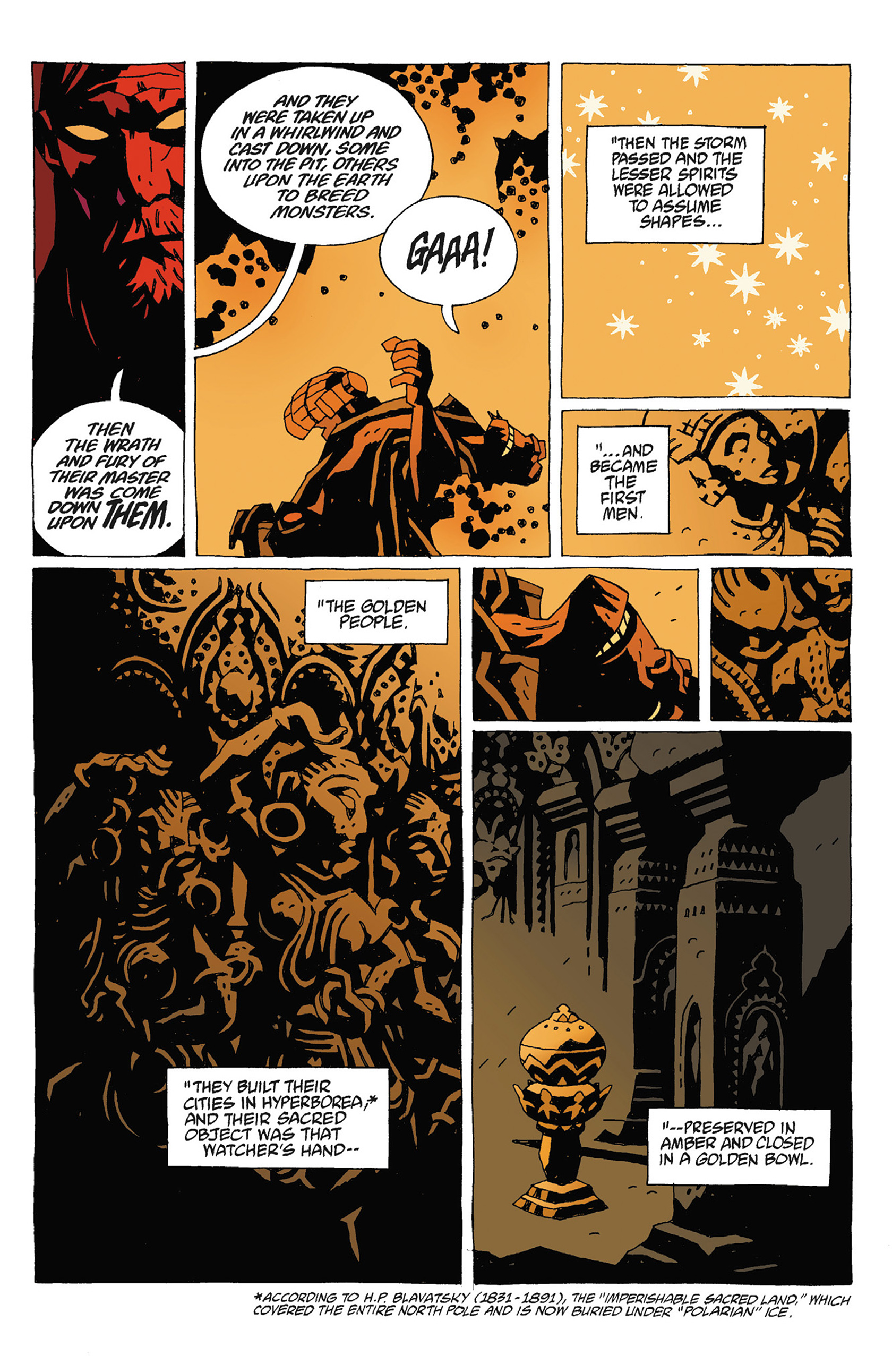 Read online Hellboy: Strange Places comic -  Issue # TPB - 109