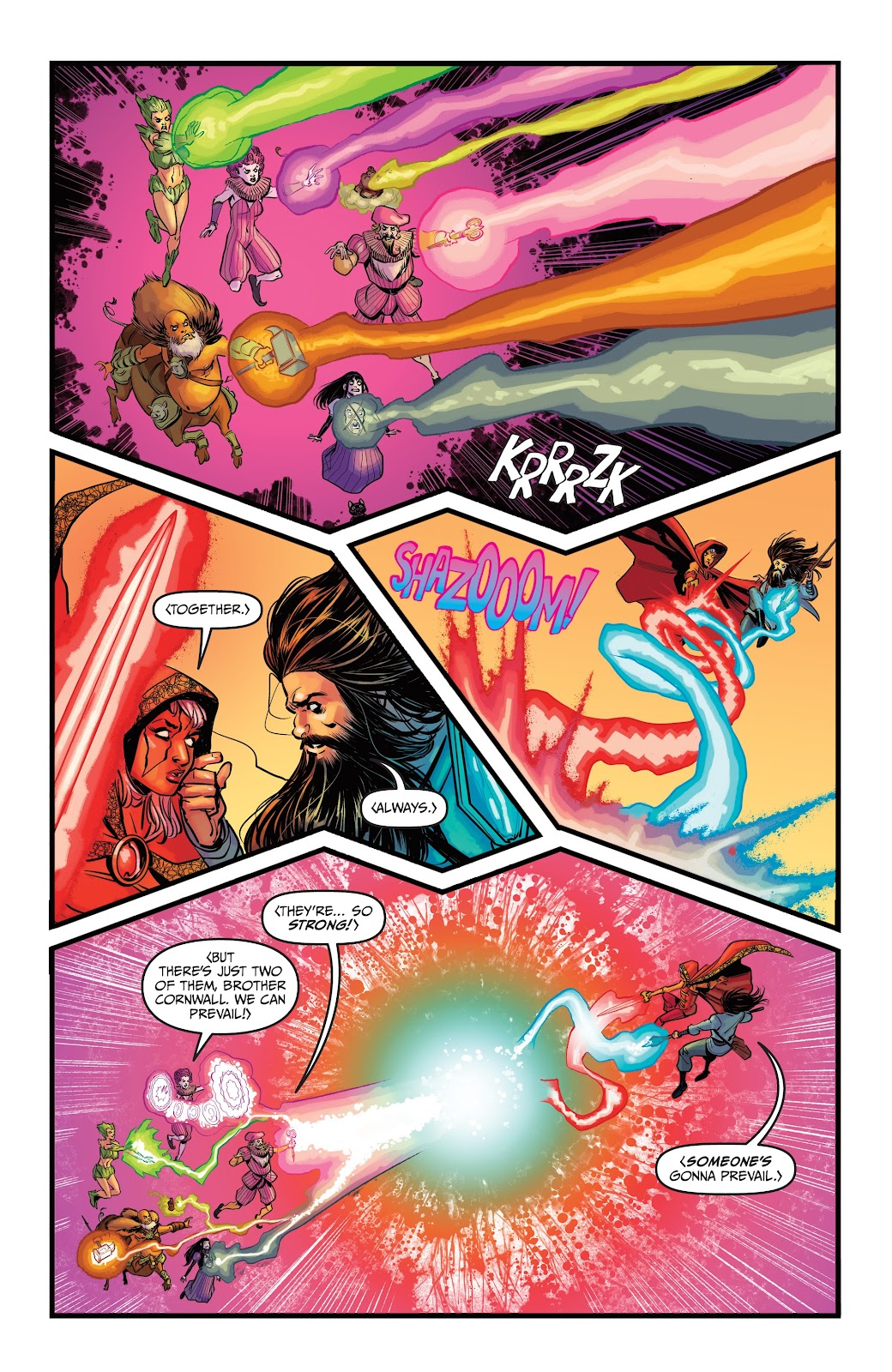 Read online Curse Words Spring Has Sprung Special comic -  Issue # Full - 18