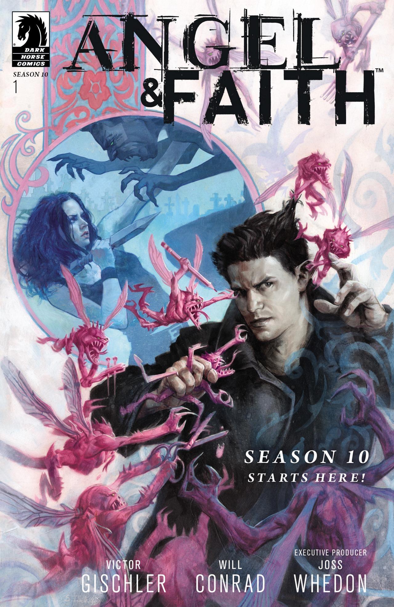 Read online Angel & Faith Season 10 comic -  Issue #1 - 1
