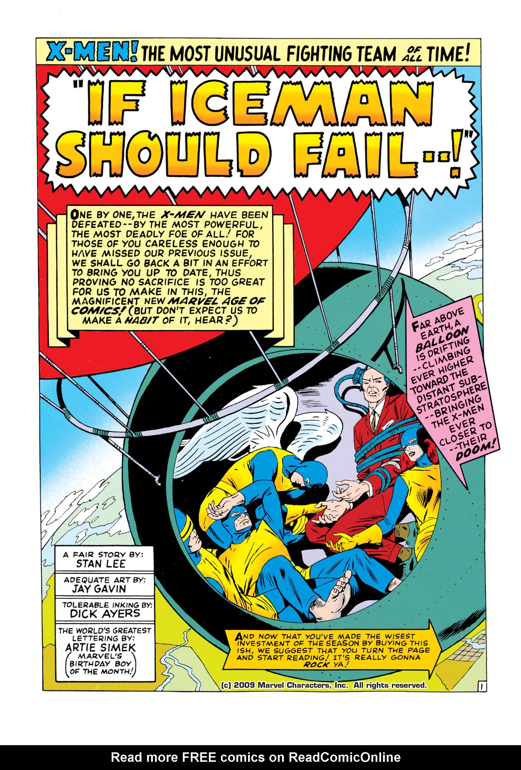 Read online Uncanny X-Men (1963) comic -  Issue #18 - 2