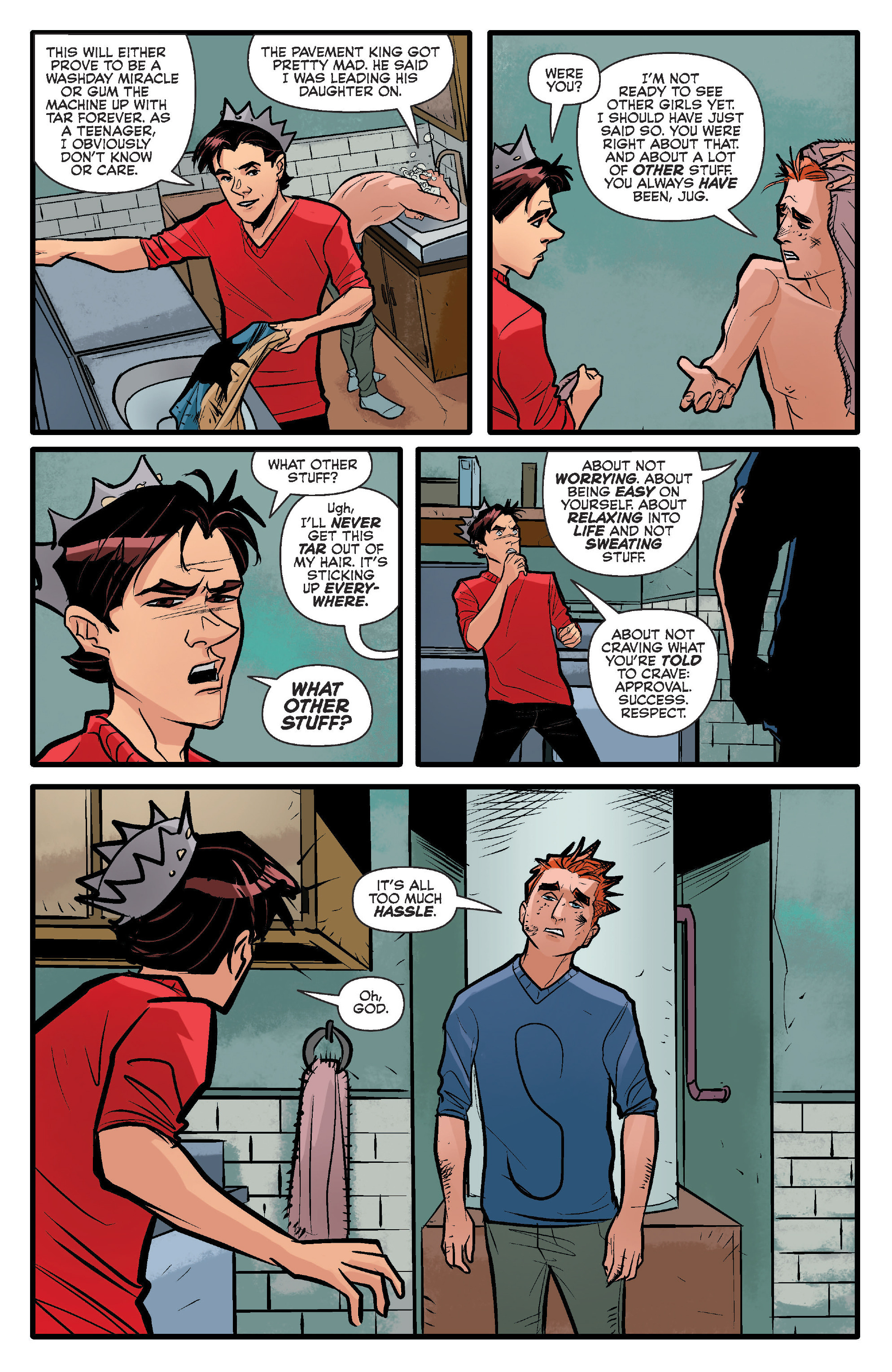 Read online Archie (2015) comic -  Issue #14 - 9