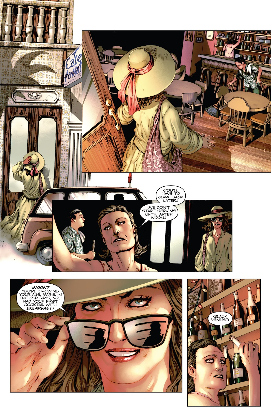 Read online Codename: Action comic -  Issue #3 - 10