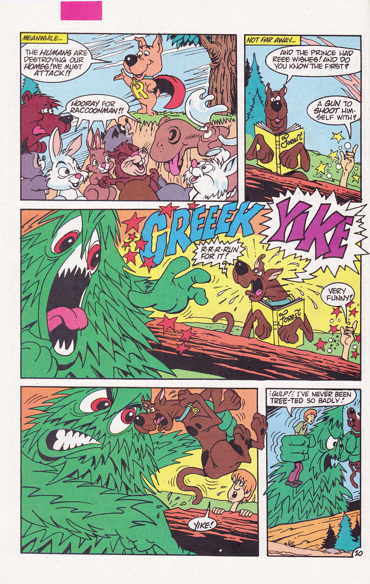 Read online Scooby-Doo (1995) comic -  Issue #6 - 14