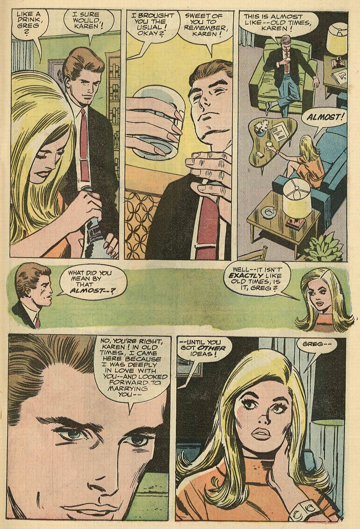 Read online Secret Hearts comic -  Issue #125 - 27