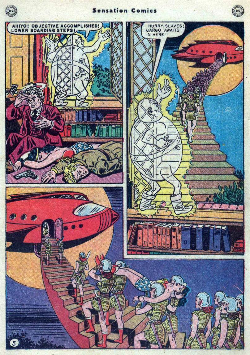 Read online Sensation (Mystery) Comics comic -  Issue #82 - 7