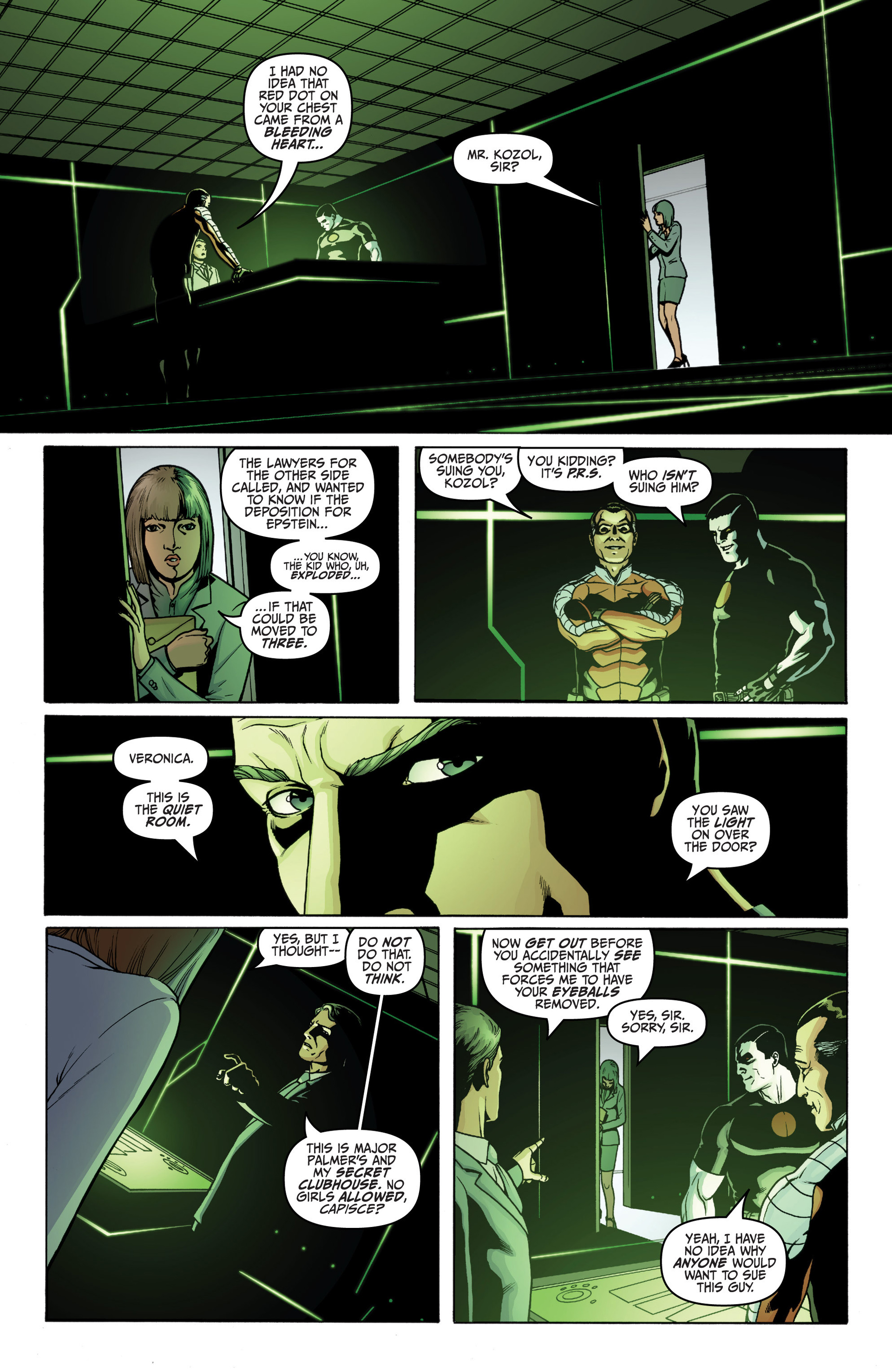 Archer and Armstrong 18 Page 4