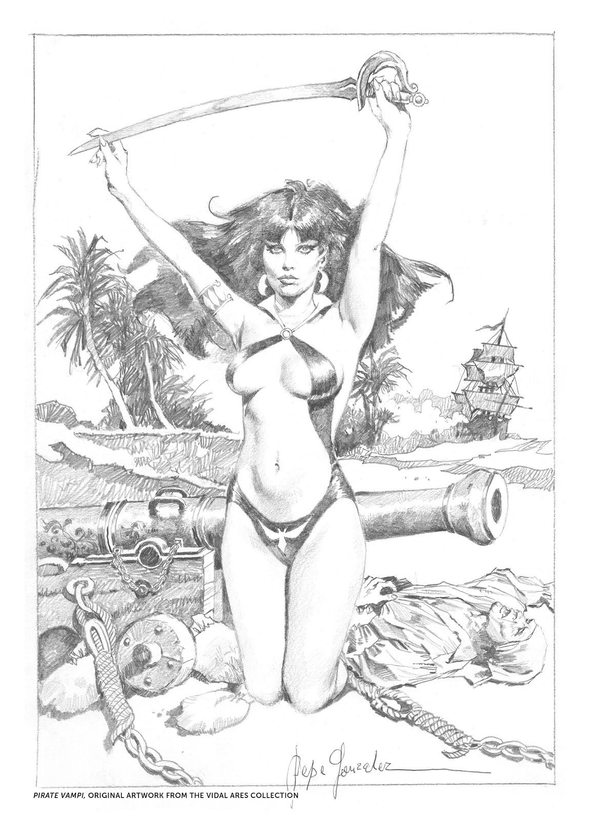 Read online The Art of Jose Gonzalez comic -  Issue # TPB (Part 2) - 34