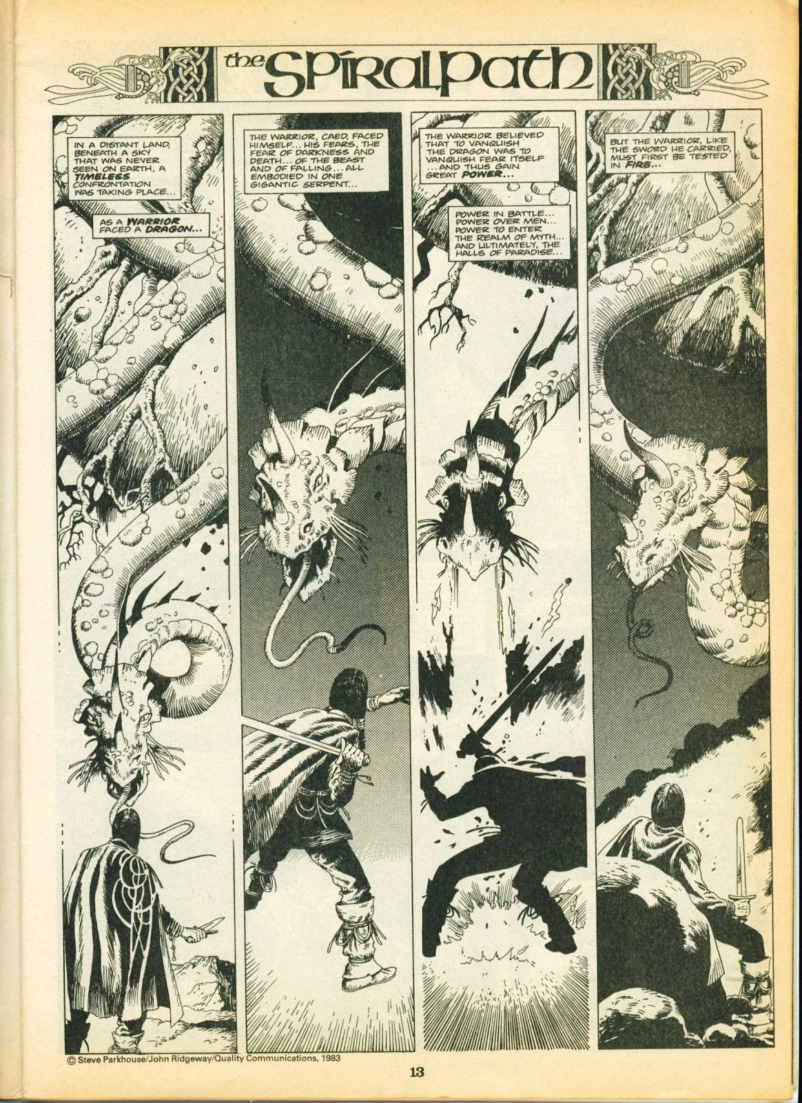 Warrior Issue #9 #10 - English 13