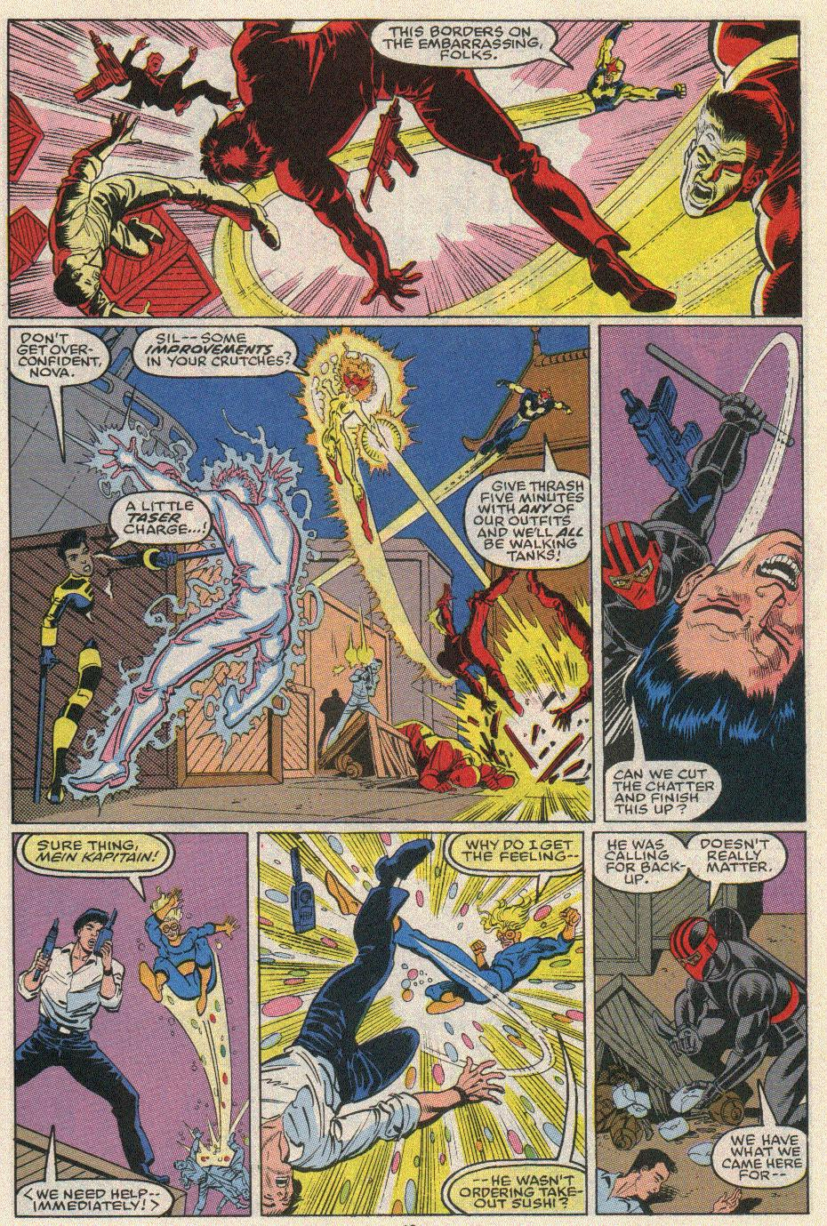 The New Warriors Issue #20 #24 - English 13