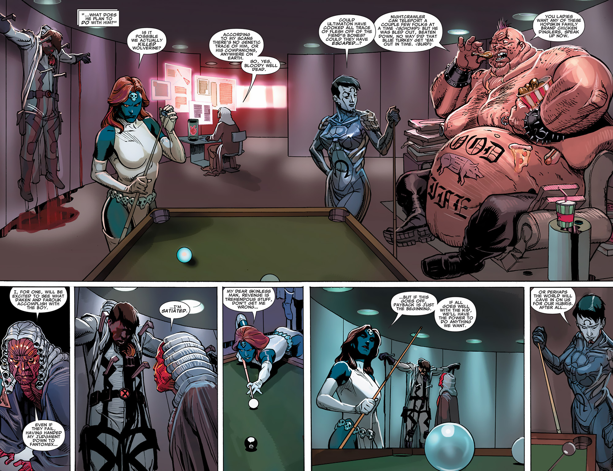 Uncanny X-Force (2010) #30 #32 - English 8