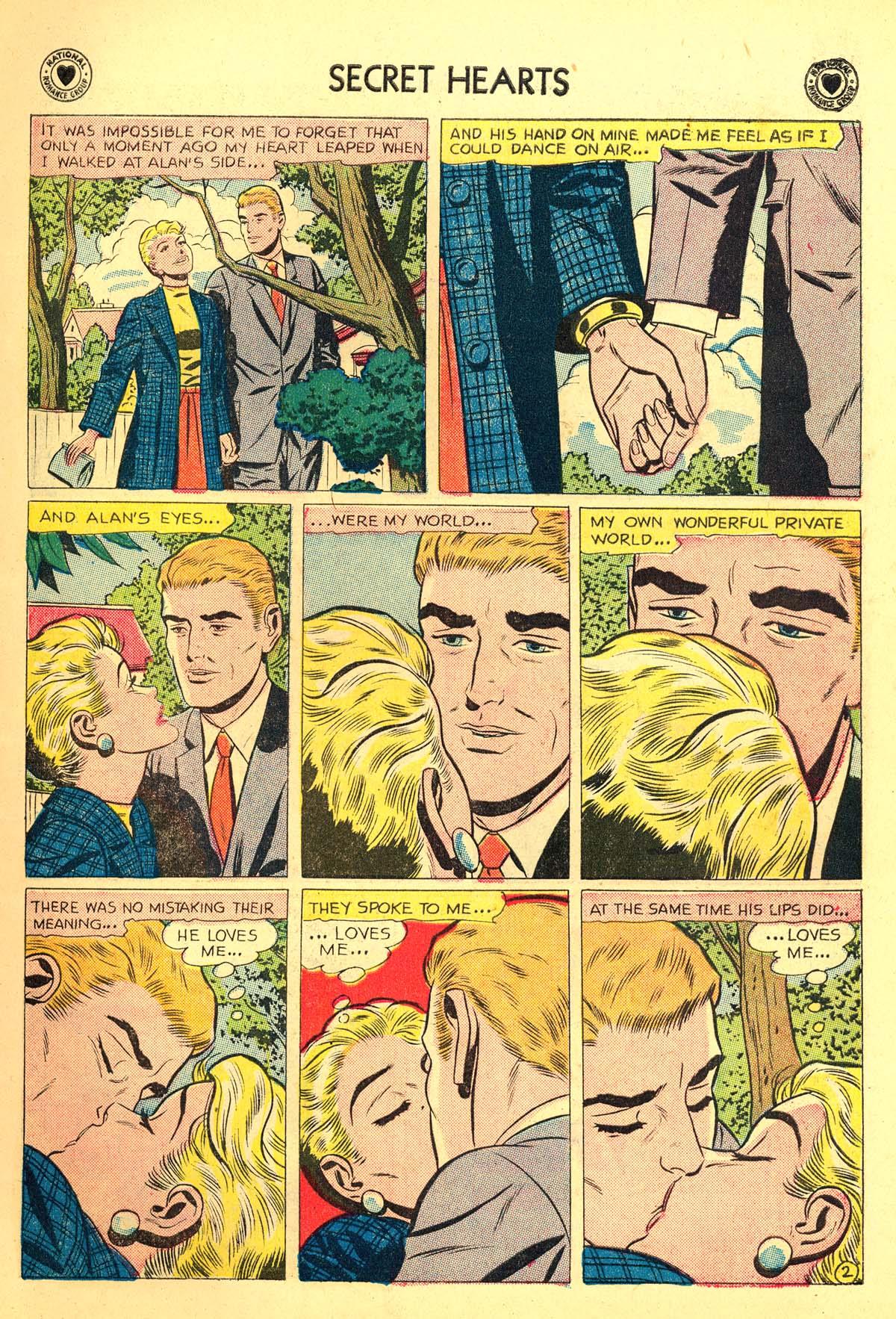 Read online Secret Hearts comic -  Issue #54 - 11