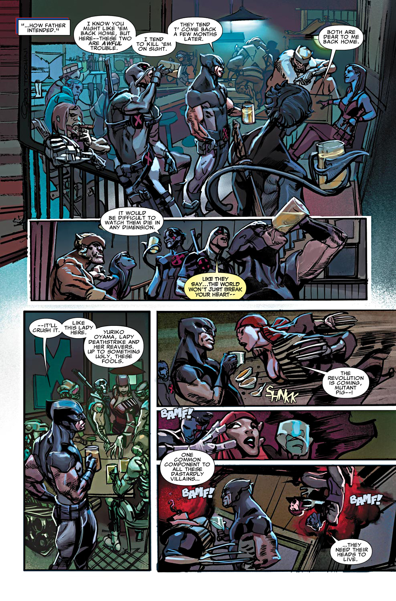 Read online Uncanny X-Force (2010) comic -  Issue #20 - 8